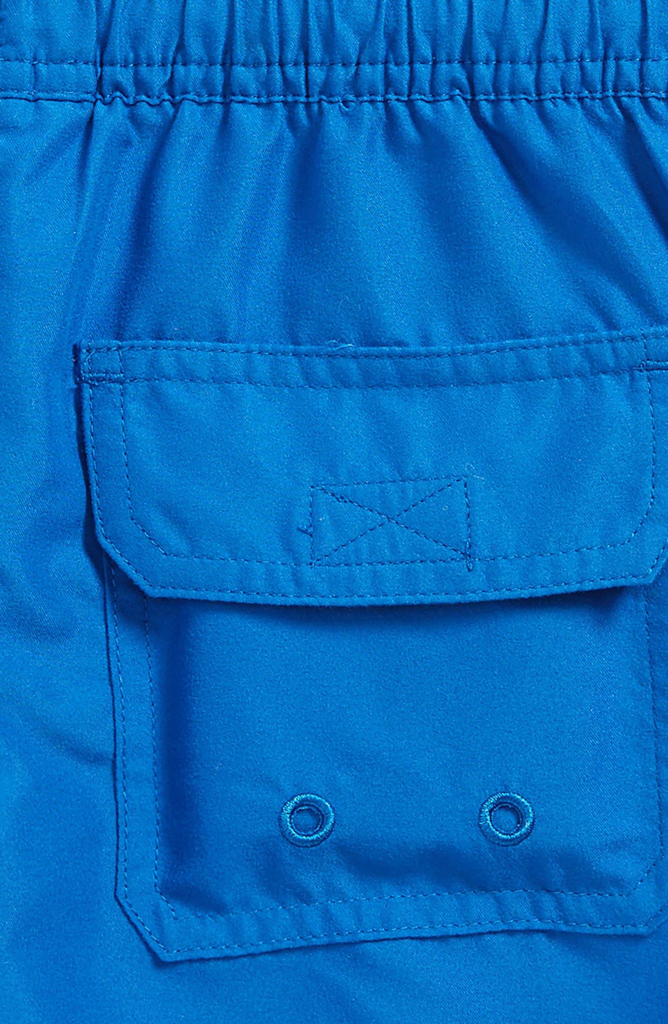 Bungalow Board Shorts,                             Alternate thumbnail 3, color,                             Yacht Blue