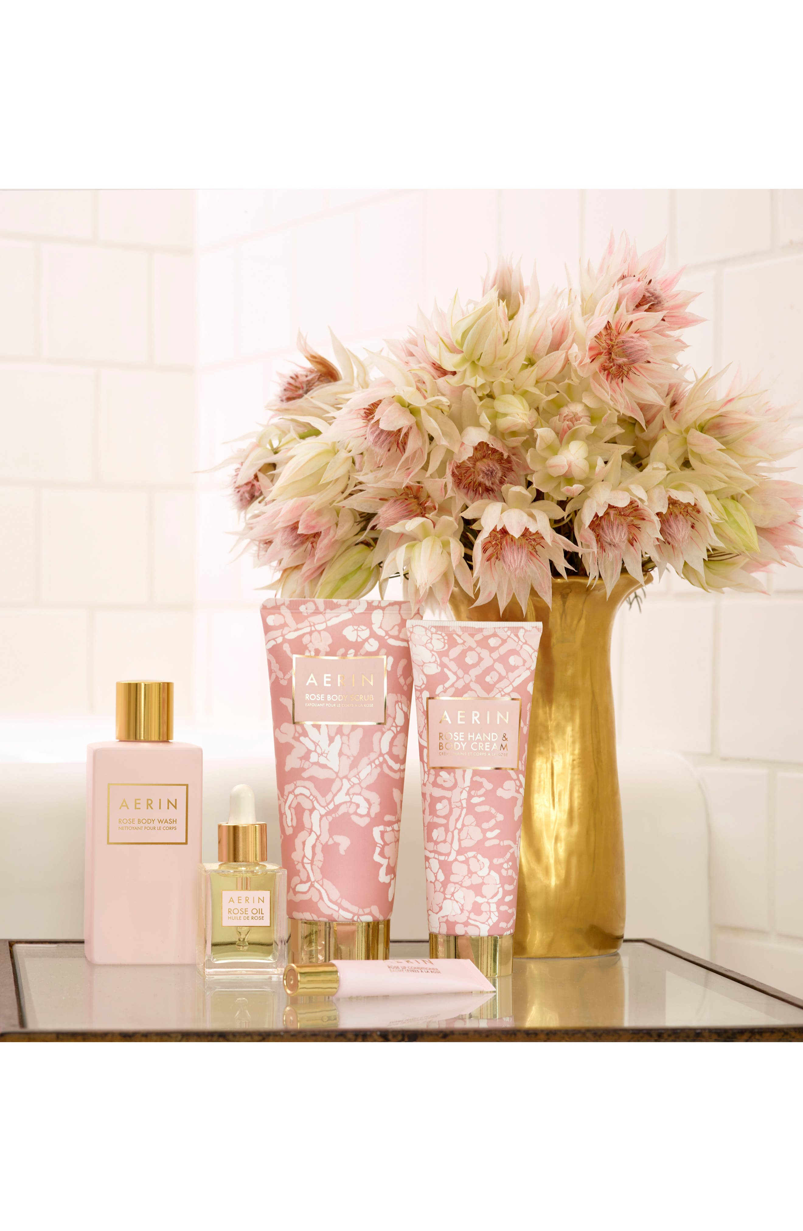 Alternate Image 2  - AERIN Beauty Rose Day Lotion & Multi-Color for Lips & Cheeks