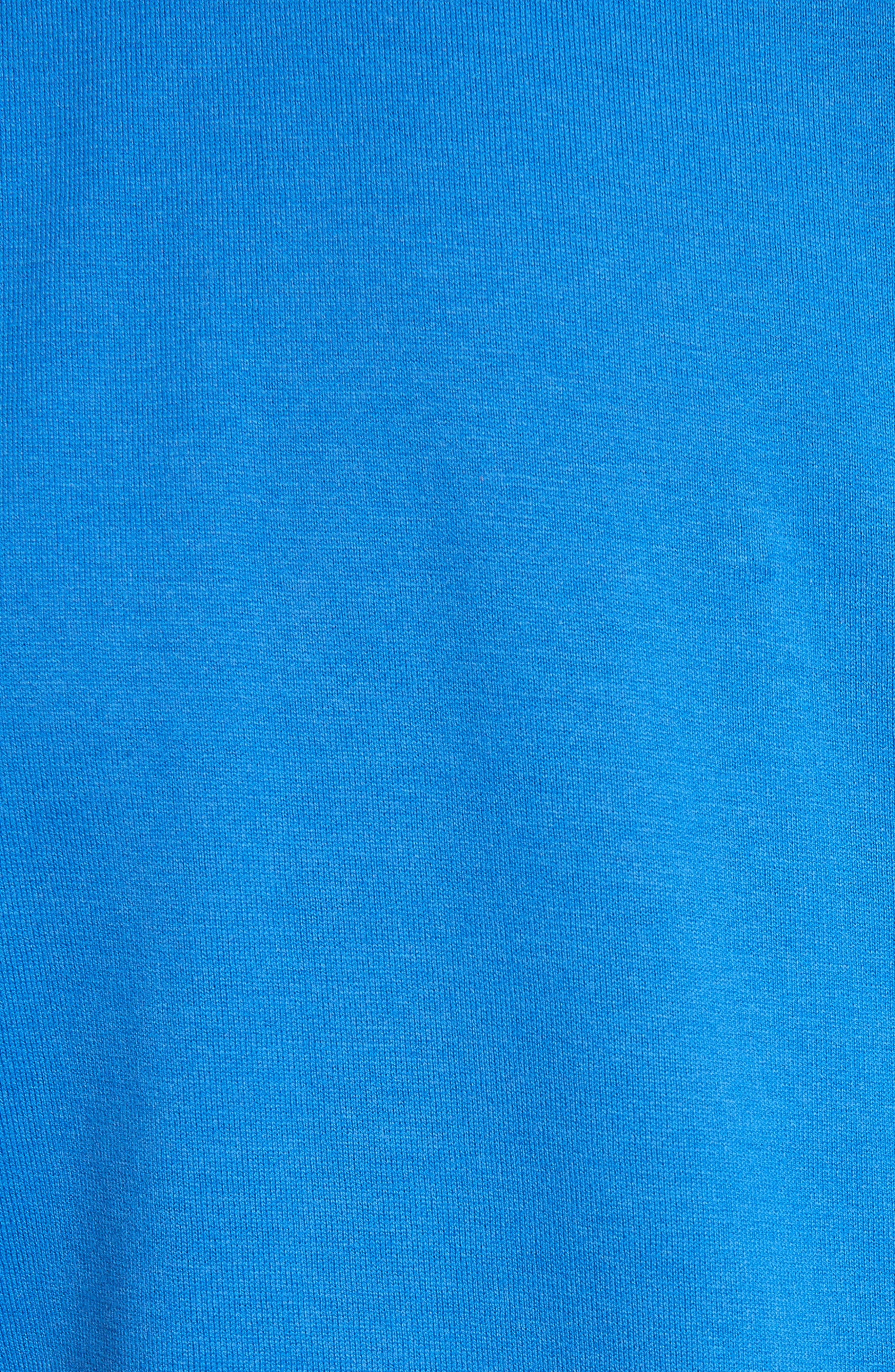 Star Appliqué T-Shirt,                             Alternate thumbnail 5, color,                             Blue