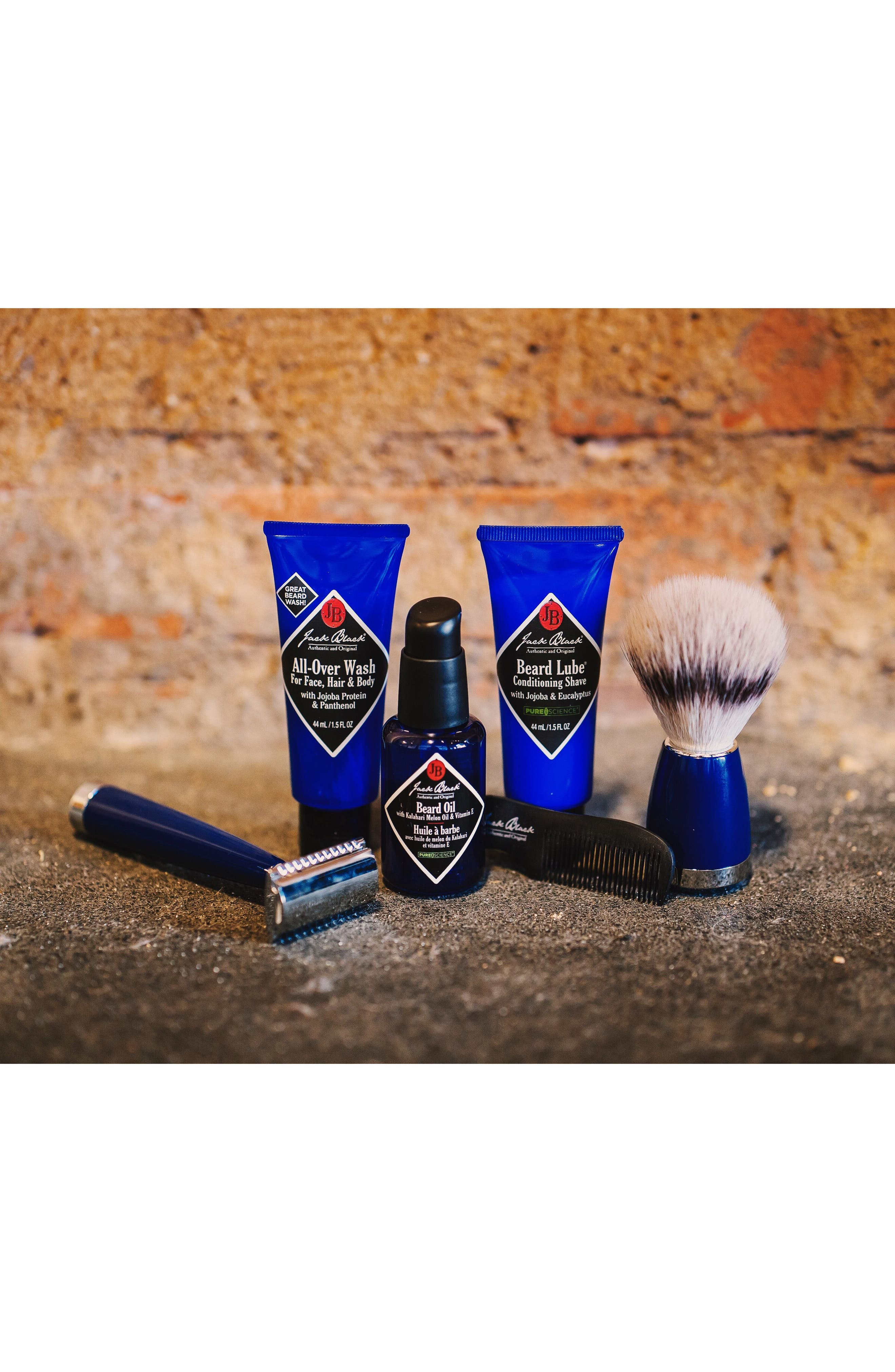 Beard Lube Conditioning Shave,                             Alternate thumbnail 5, color,                             No Color