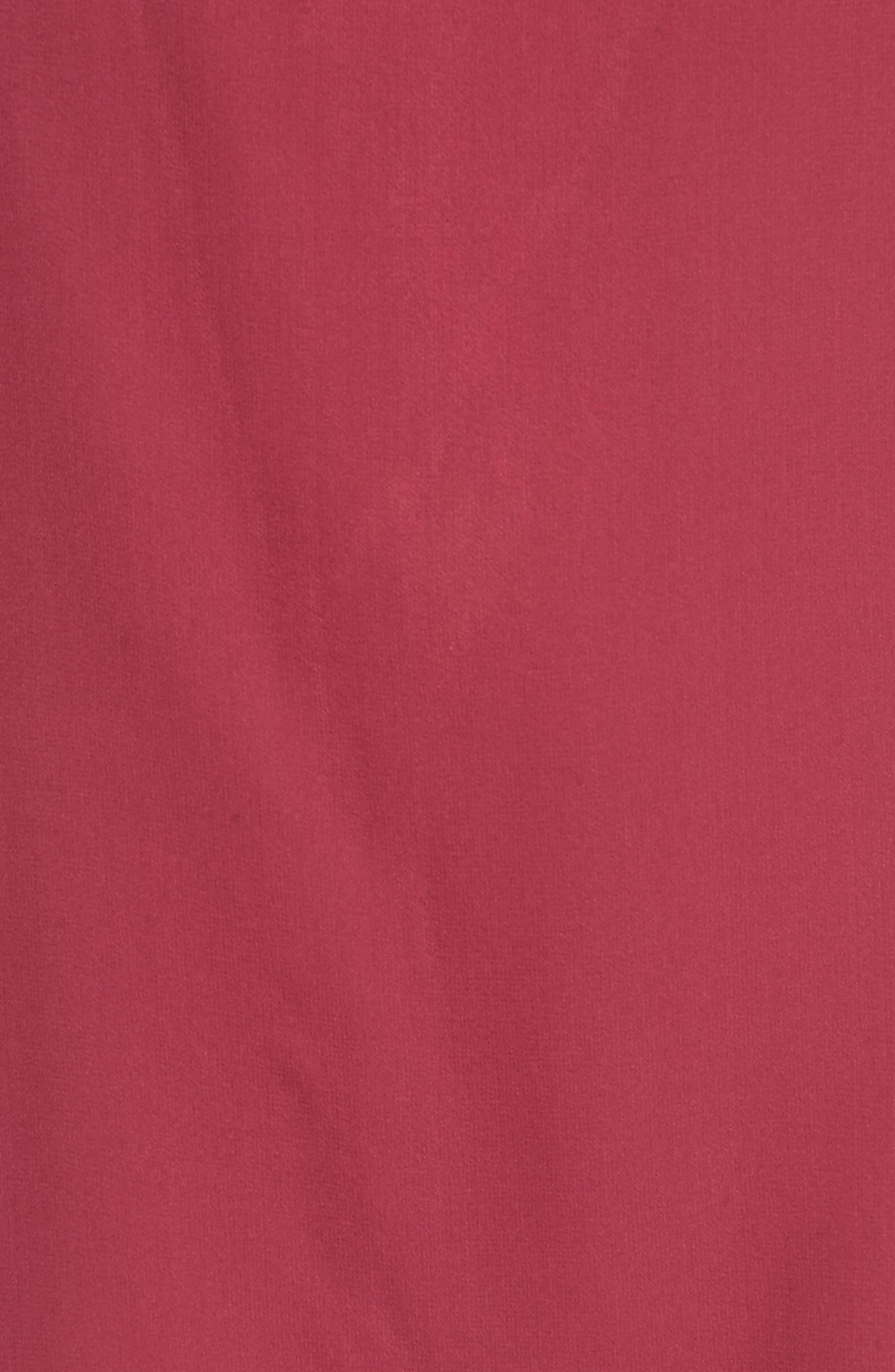 Dena Off the Shoulder Shift Dress,                             Alternate thumbnail 5, color,                             Raspberry