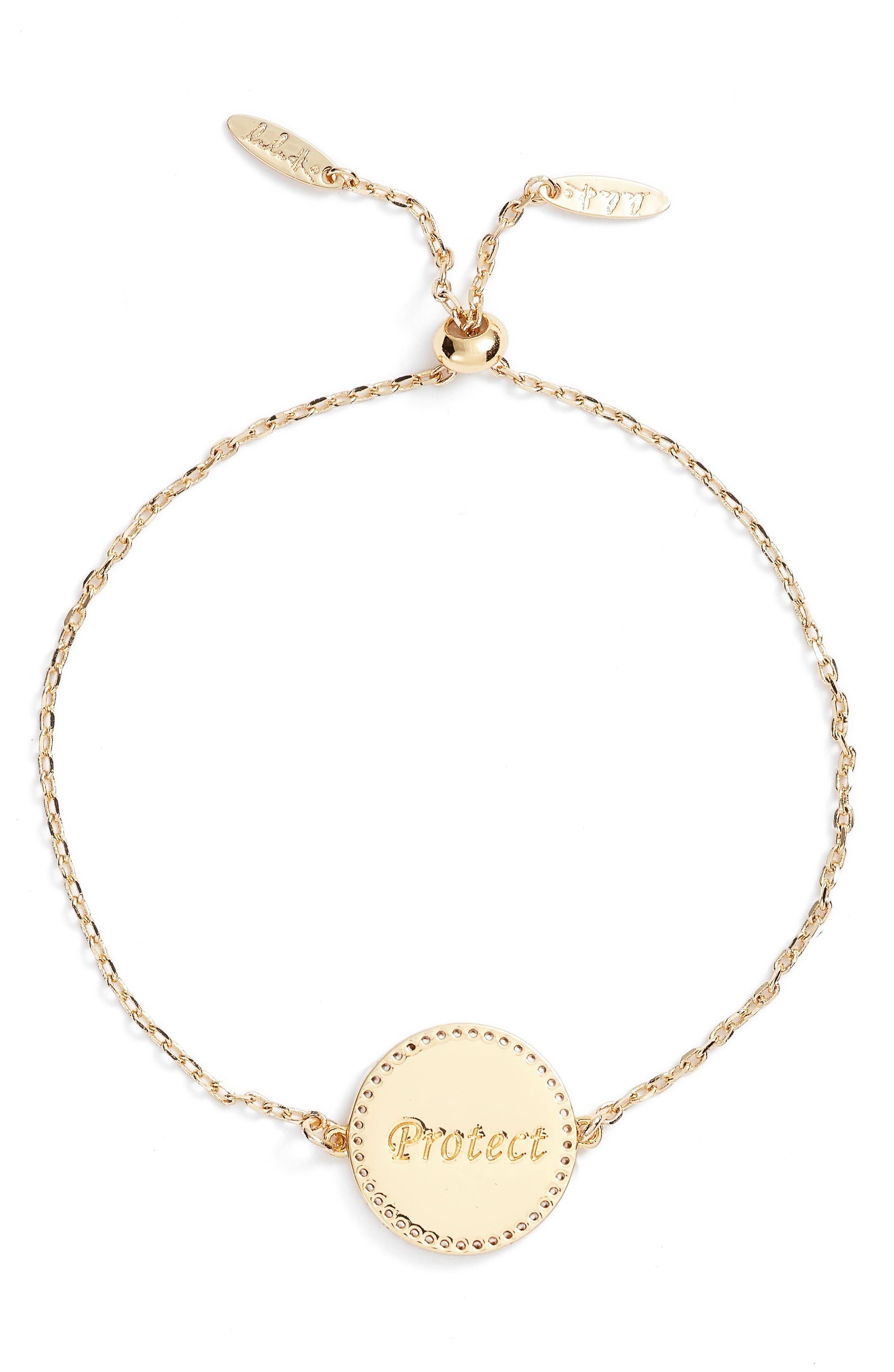 Alternate Image 3  - lulu dk Protect Pendant Bracelet