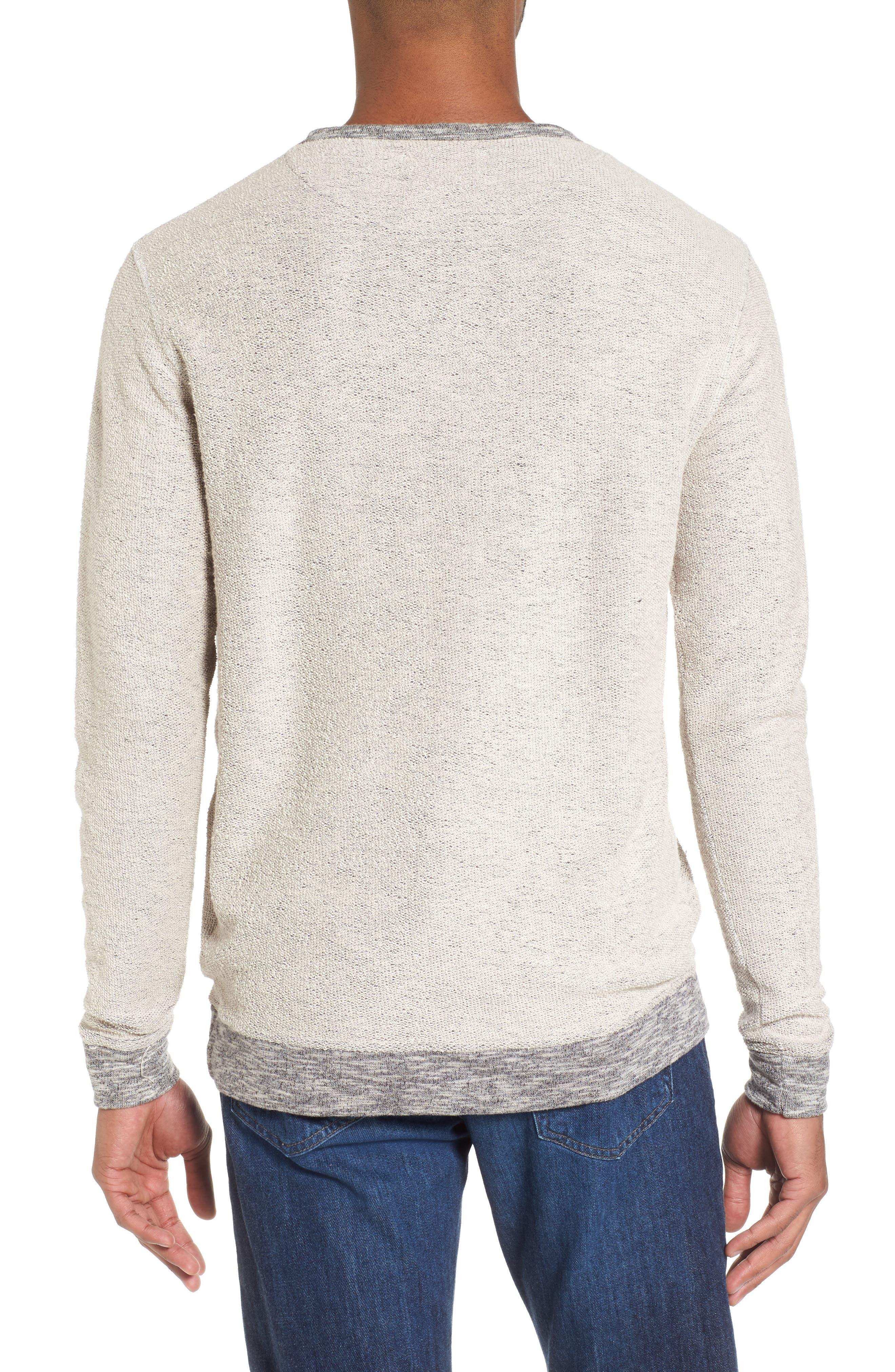 Alternate Image 2  - Vestige Reverse French Terry Sweatshirt