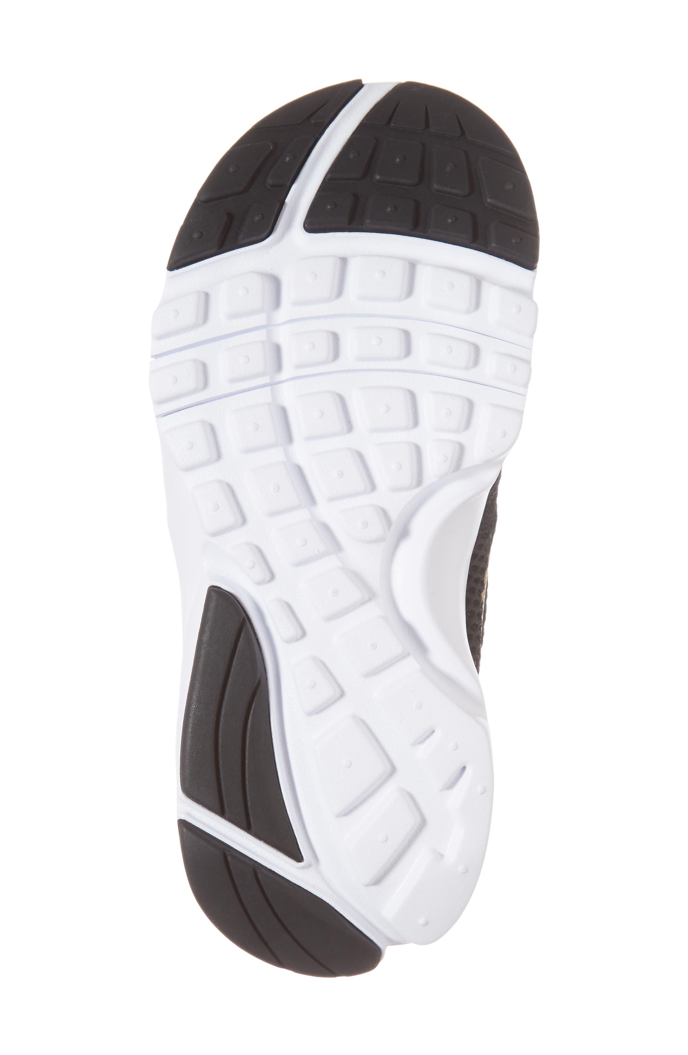 Presto Fly PS Sneaker,                             Alternate thumbnail 6, color,                             Black/ Gold