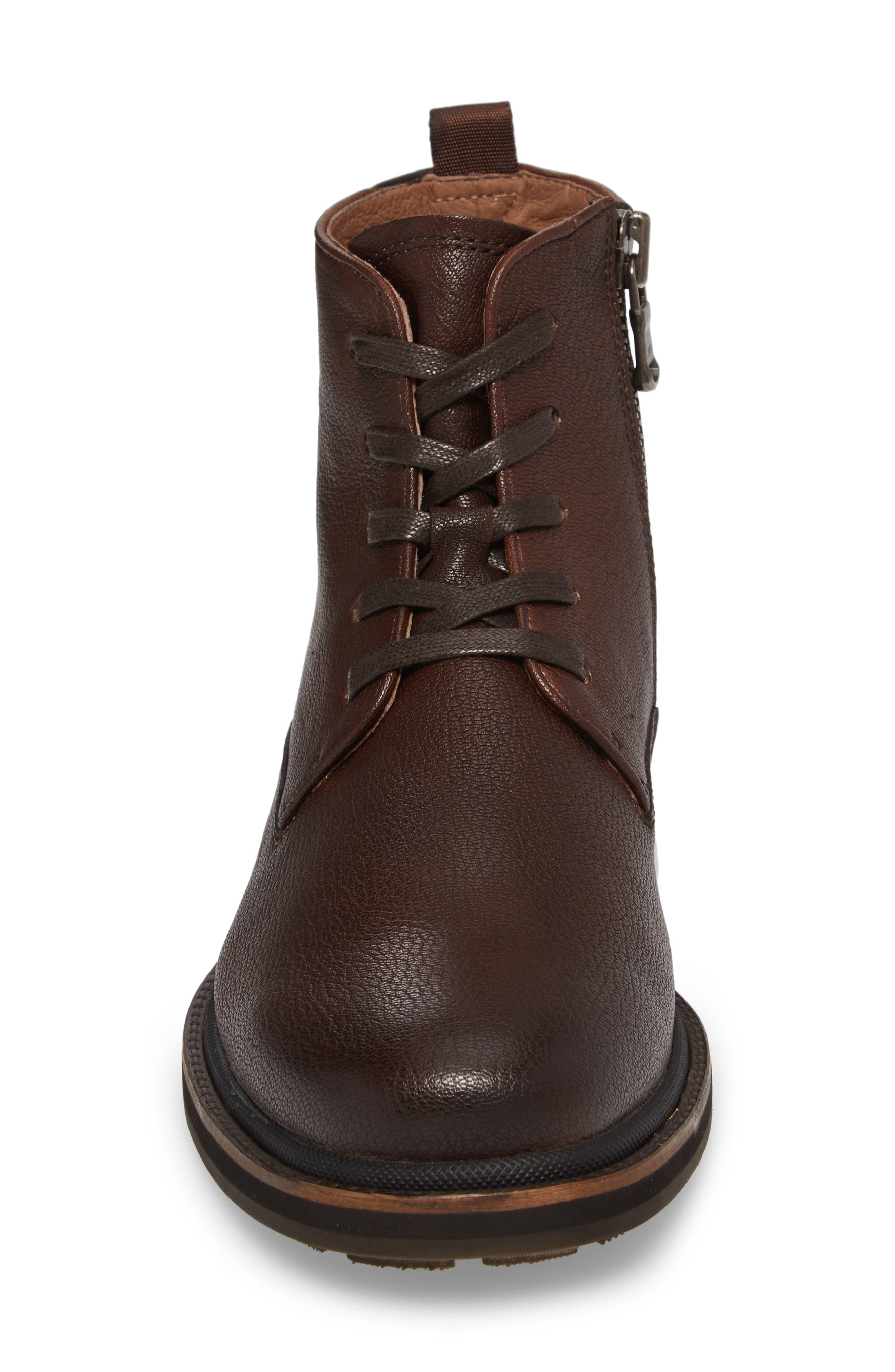 Alternate Image 4  - John Varvatos Star USA Brooklyn Plain Toe Boot (Men)