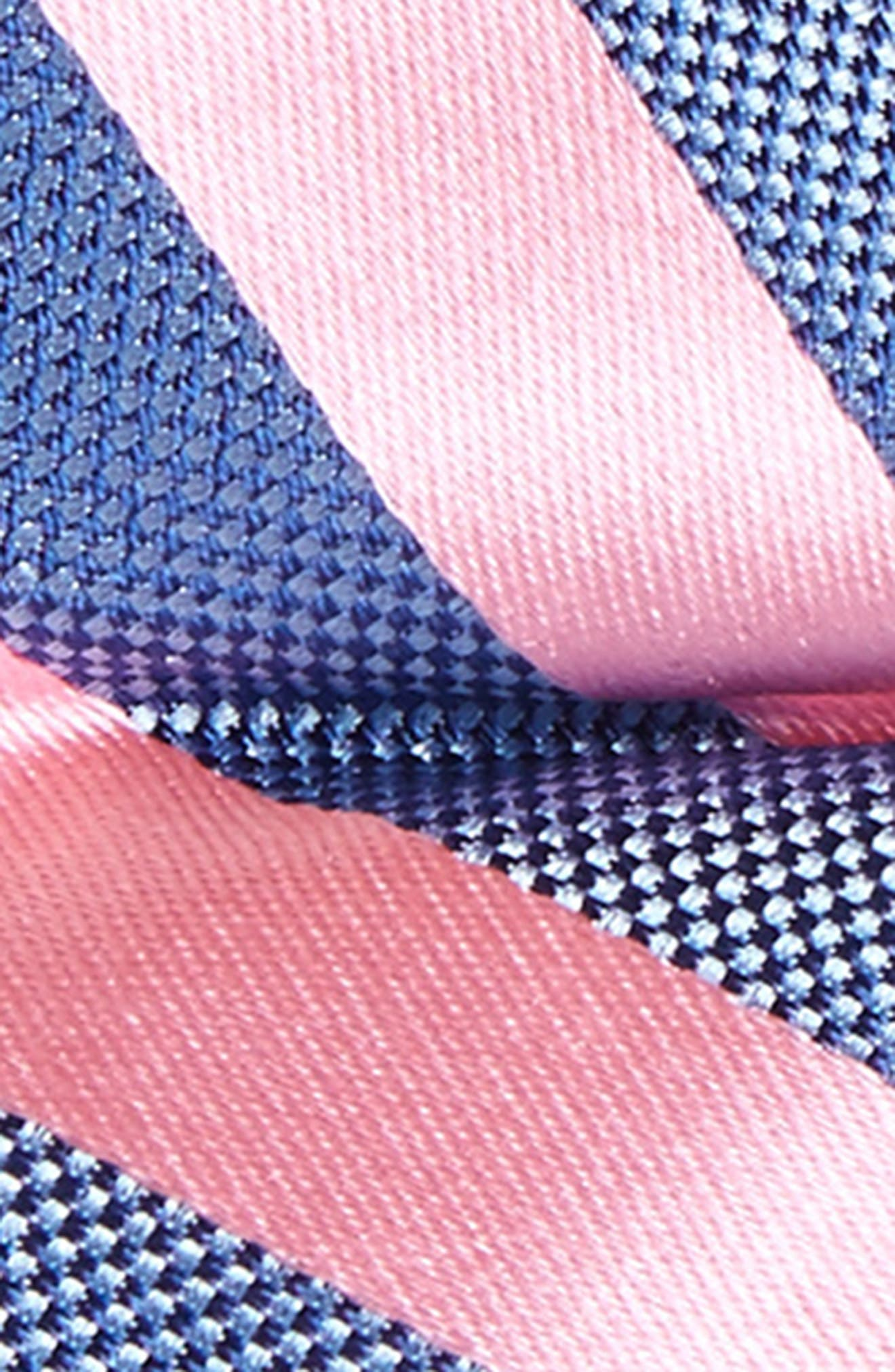 Alternate Image 2  - Nordstrom Stripe Silk Bow Tie (Big Boys)