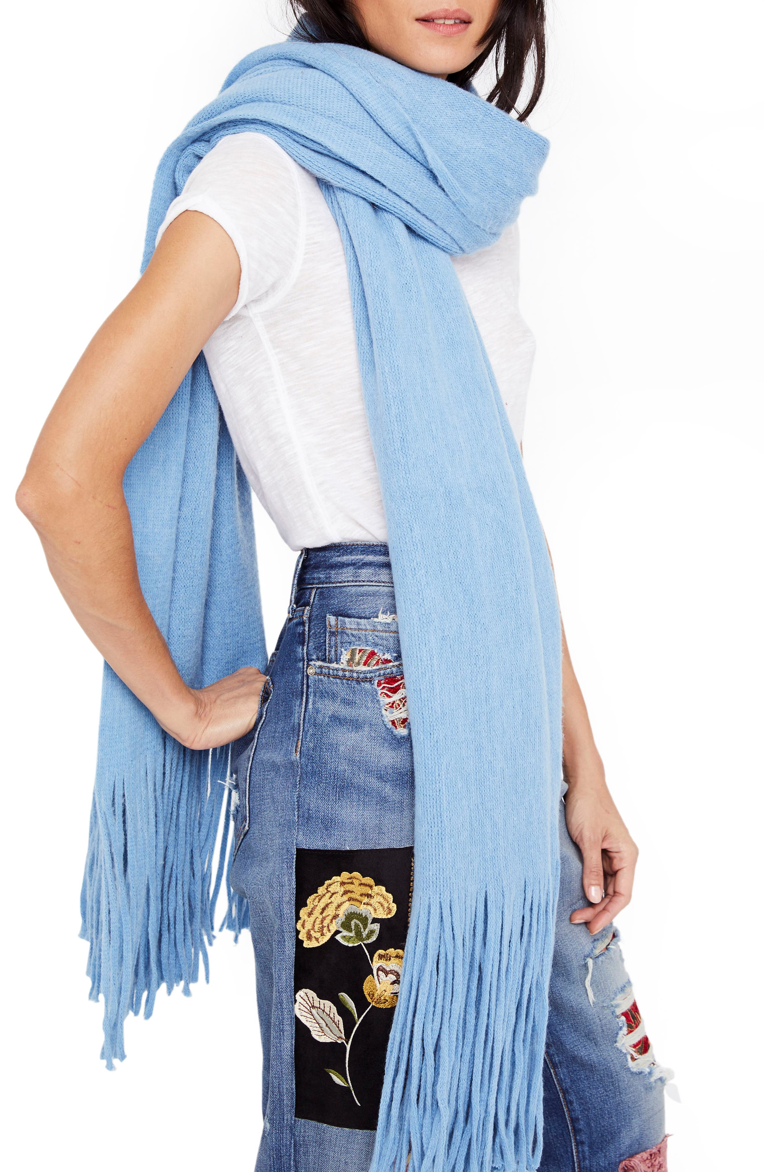 Alternate Image 1 Selected - Free People Kolby Brushed Scarf