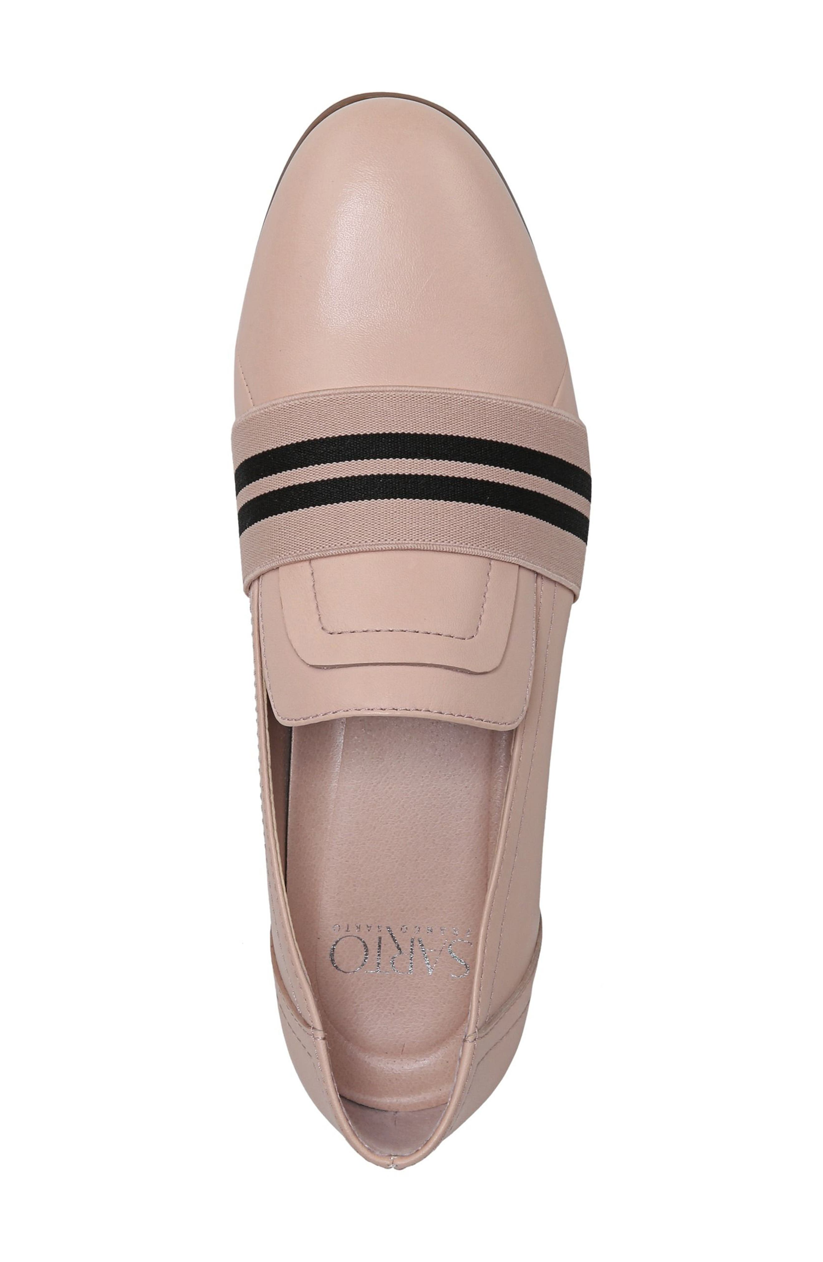 Odyssey Loafer,                             Alternate thumbnail 7, color,                             Blush Leather
