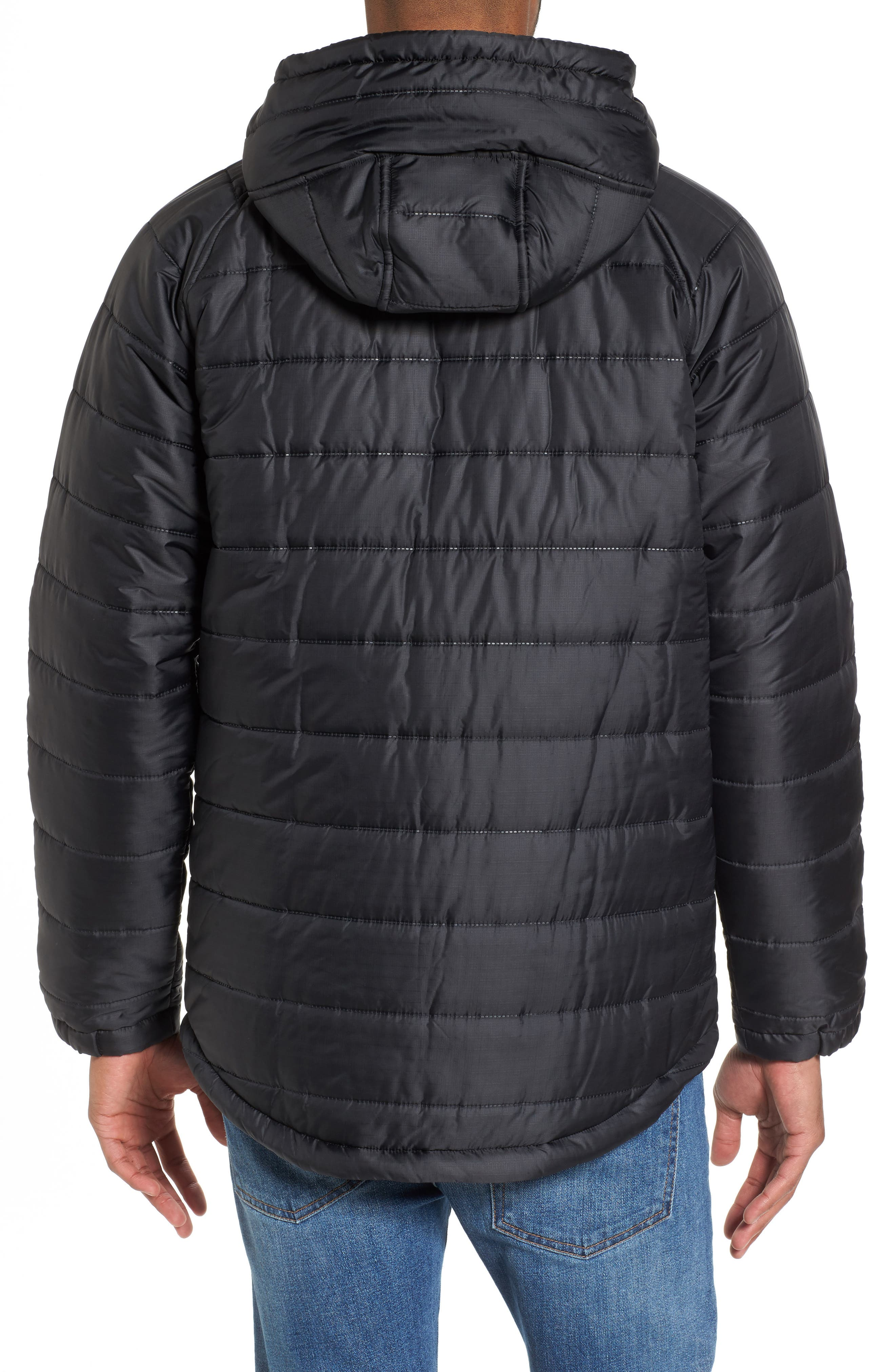 Alternate Image 2  - Hurley Protect Max Water-Repellent Quilted Jacket