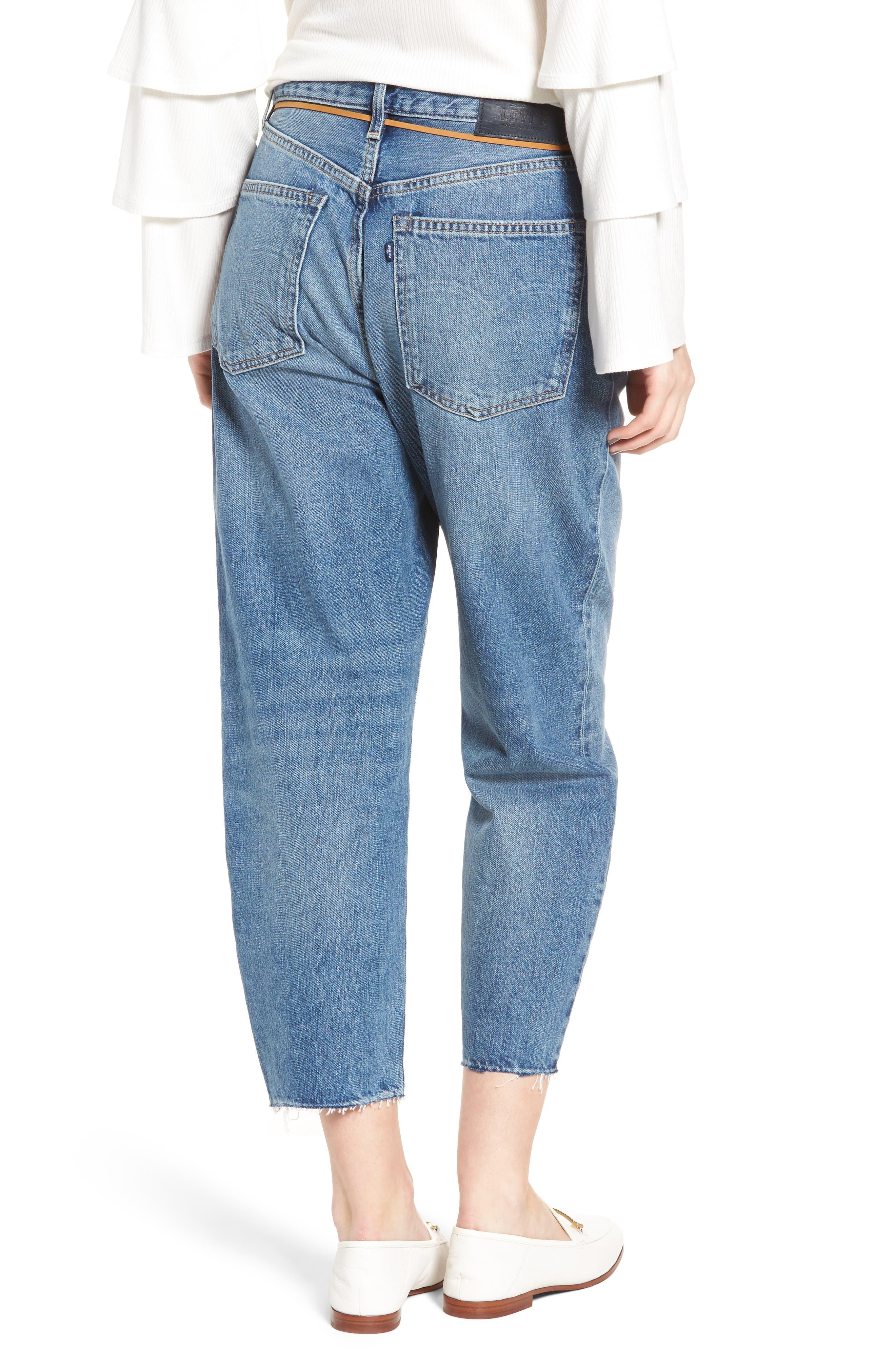 Barrel Jeans,                             Alternate thumbnail 2, color,                             J-Bay