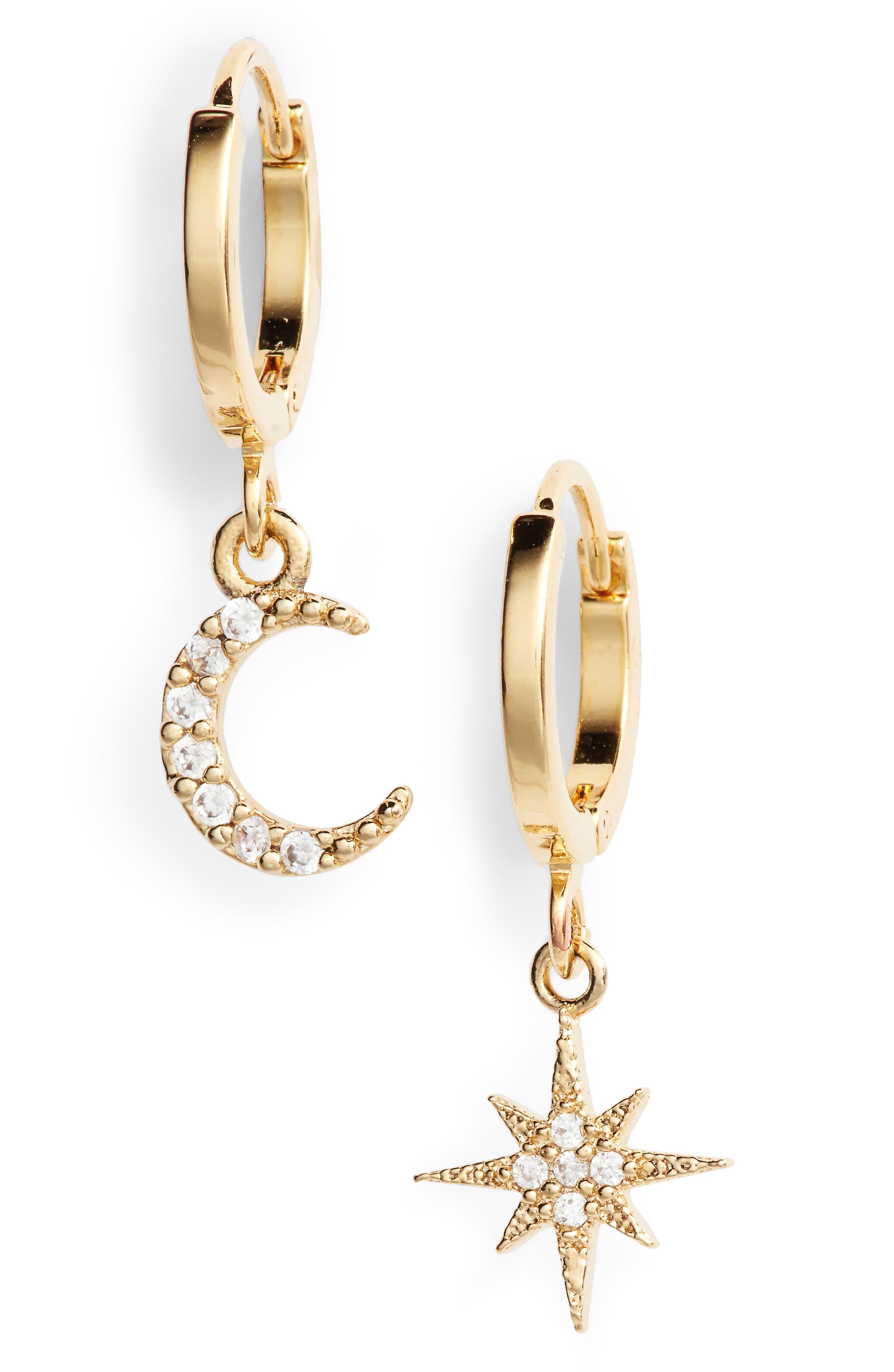 five and two chloe drop earrings