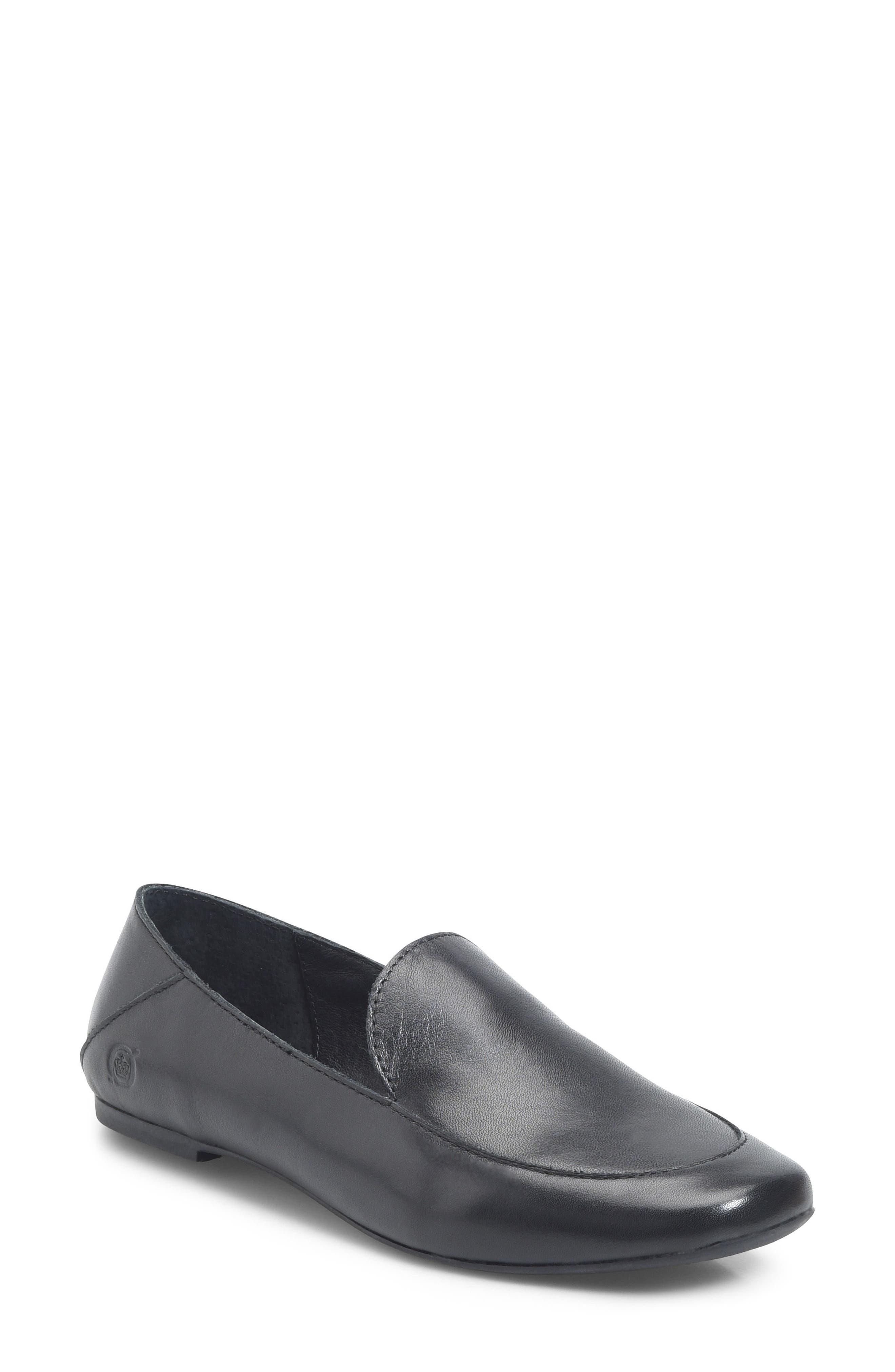 Carib Loafer,                         Main,                         color, Black Leather