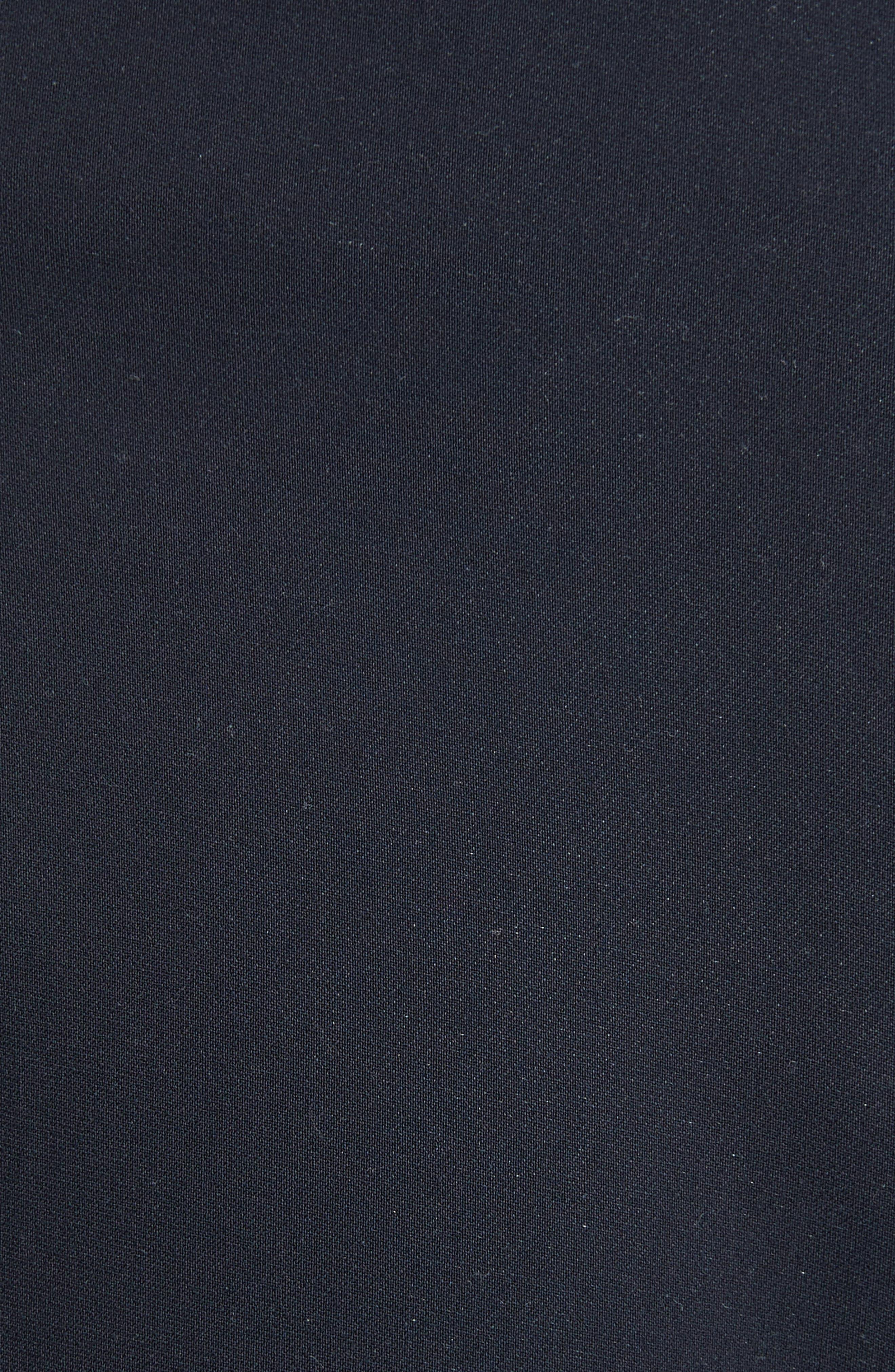 Ruffle Apron Shorts,                             Alternate thumbnail 5, color,                             Midnight