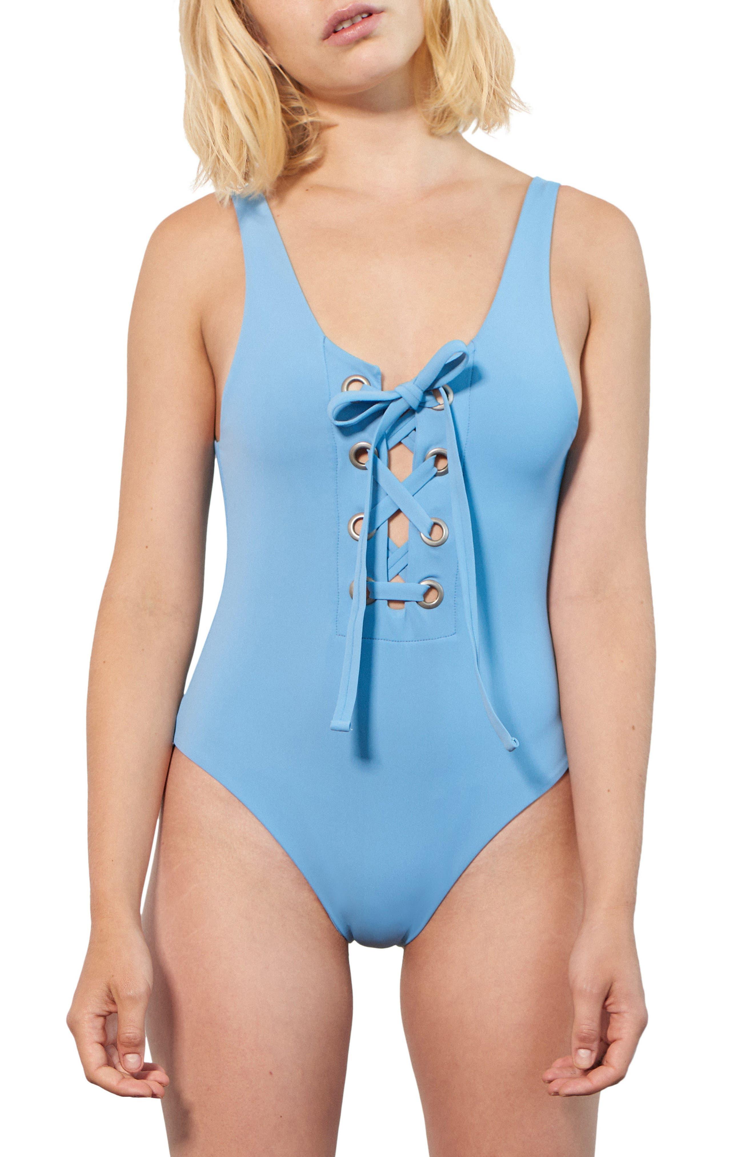Desa One-Piece Swimsuit,                         Main,                         color, Vento