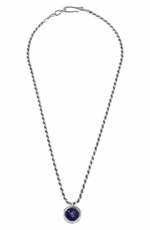 Mens necklaces pendants chains nordstrom george frost poison pendant necklace aloadofball Image collections