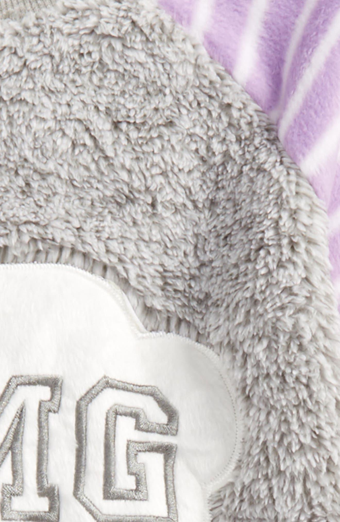 Appliqué Two-Piece Pajamas,                             Alternate thumbnail 2, color,                             Purple