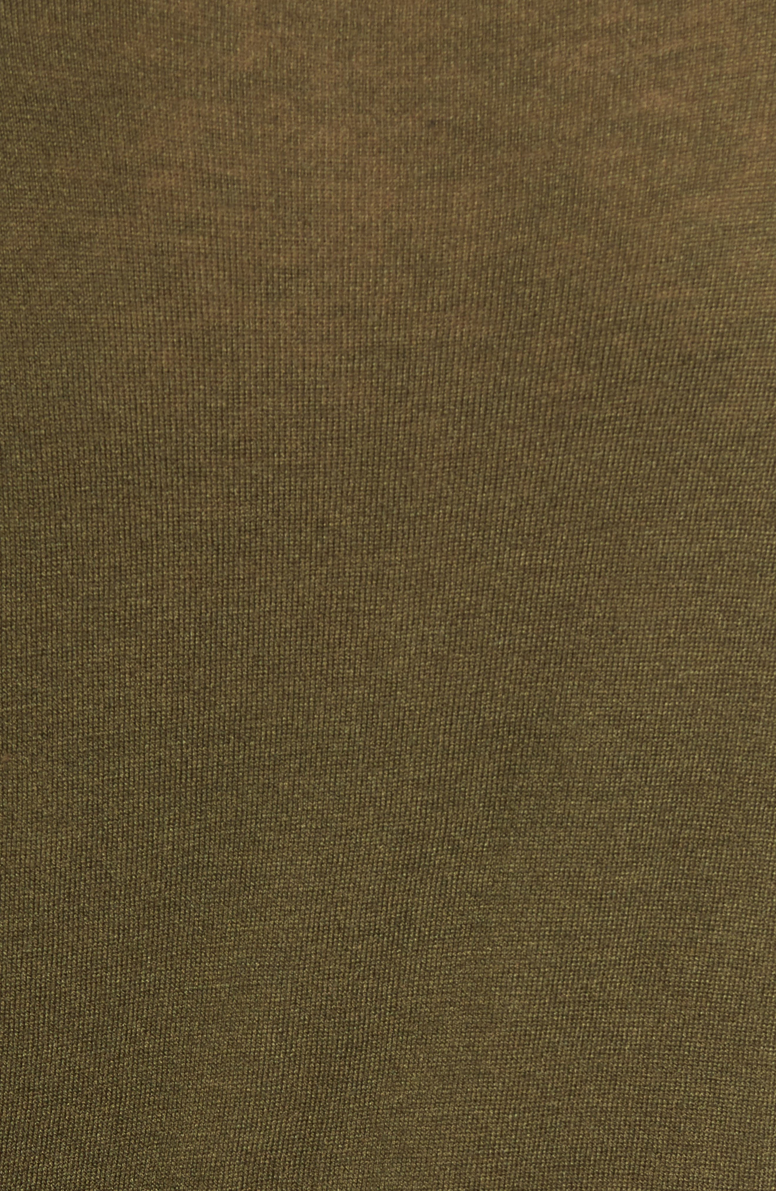 Modern Tie Front Sweater,                             Alternate thumbnail 5, color,                             Foliage Green