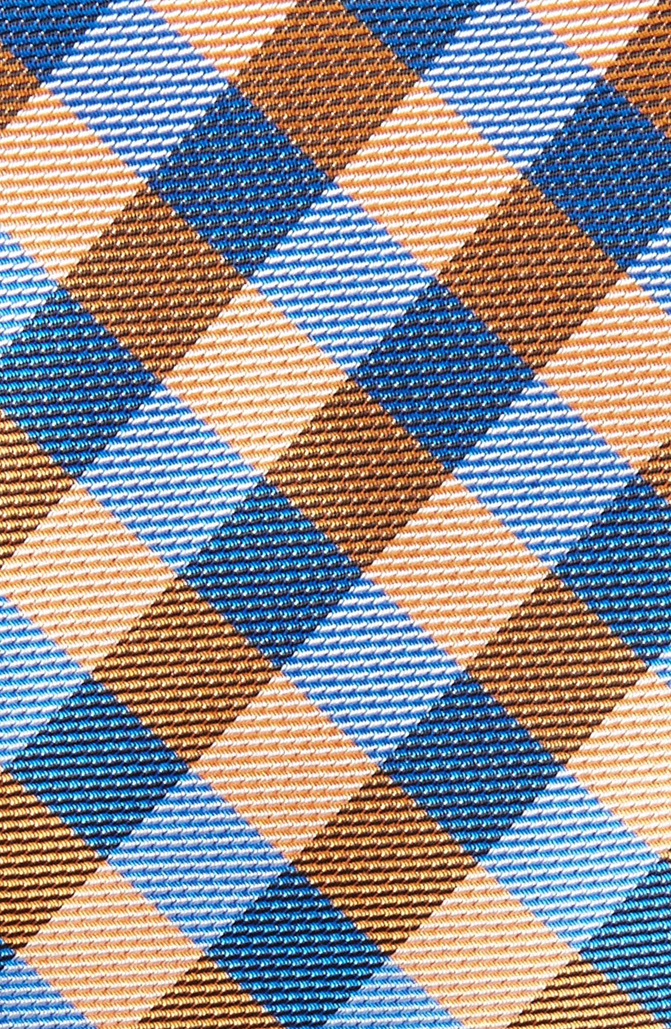 Alternate Image 2  - 1901 Lopez Check Silk Skinny Tie