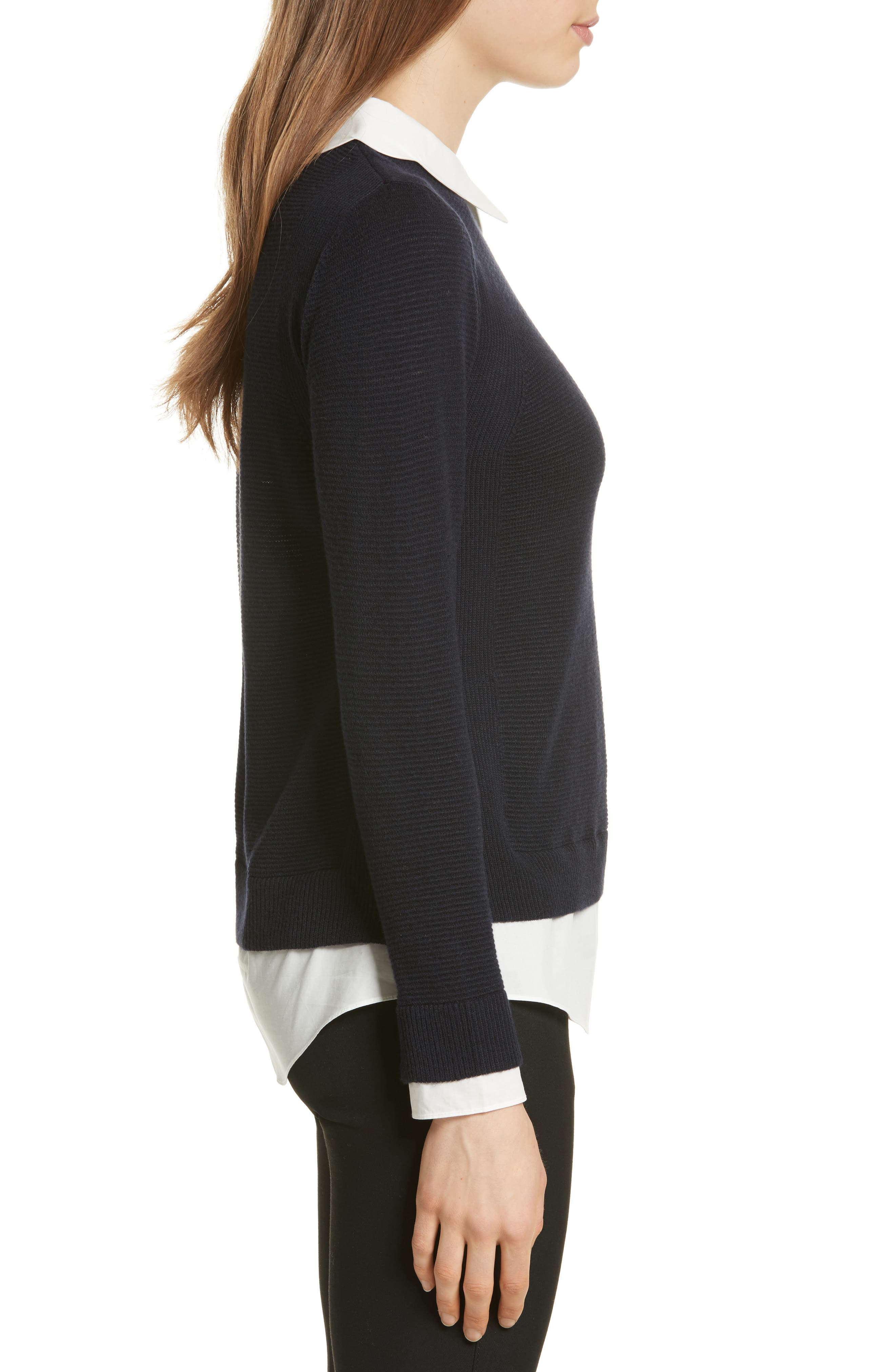 Alternate Image 3  - Ted Baker London Scallop Collar Sweater