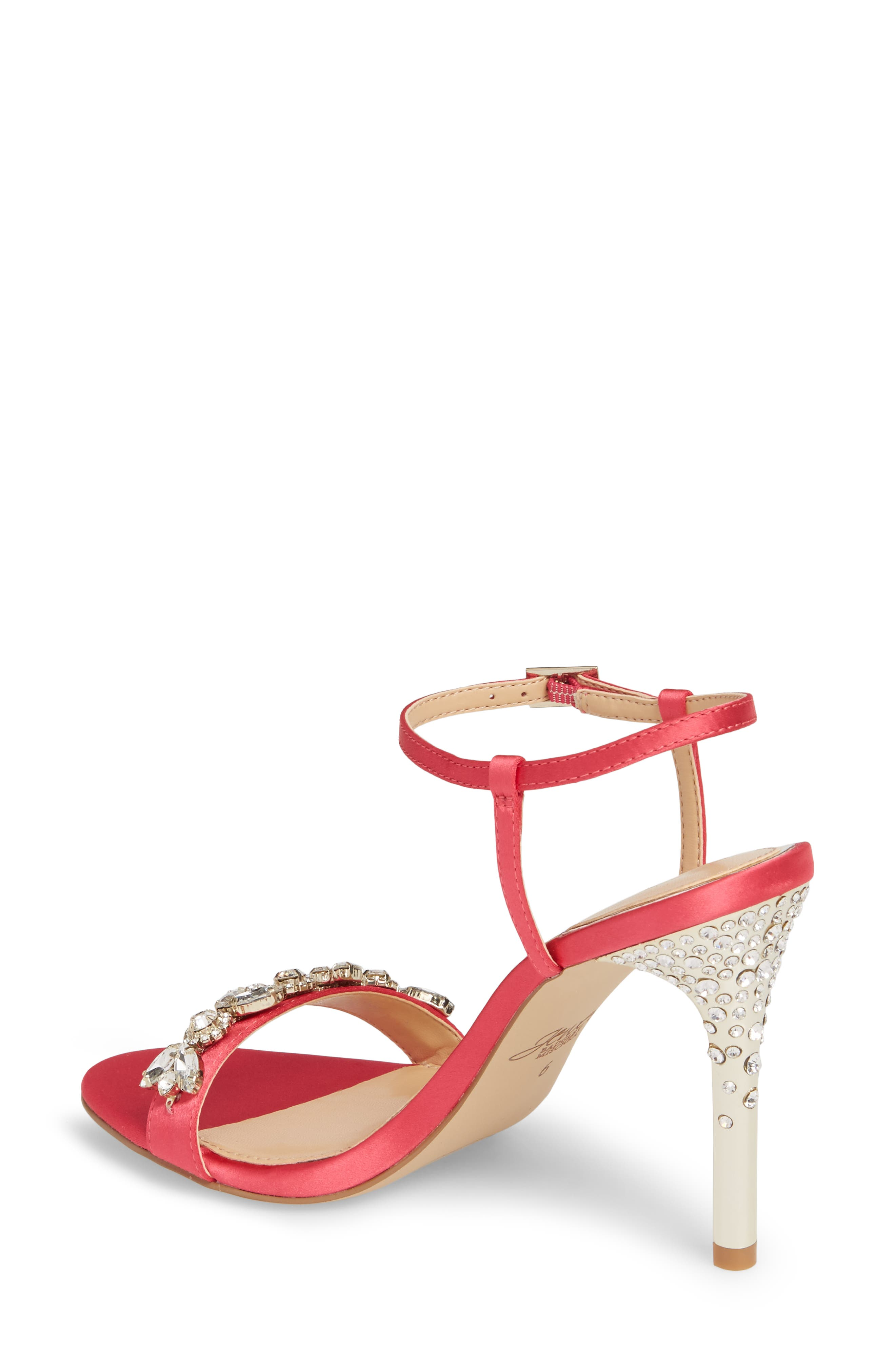Alternate Image 2  - Jewel Badgley Mischka Tex Ankle Strap Sandal (Women)