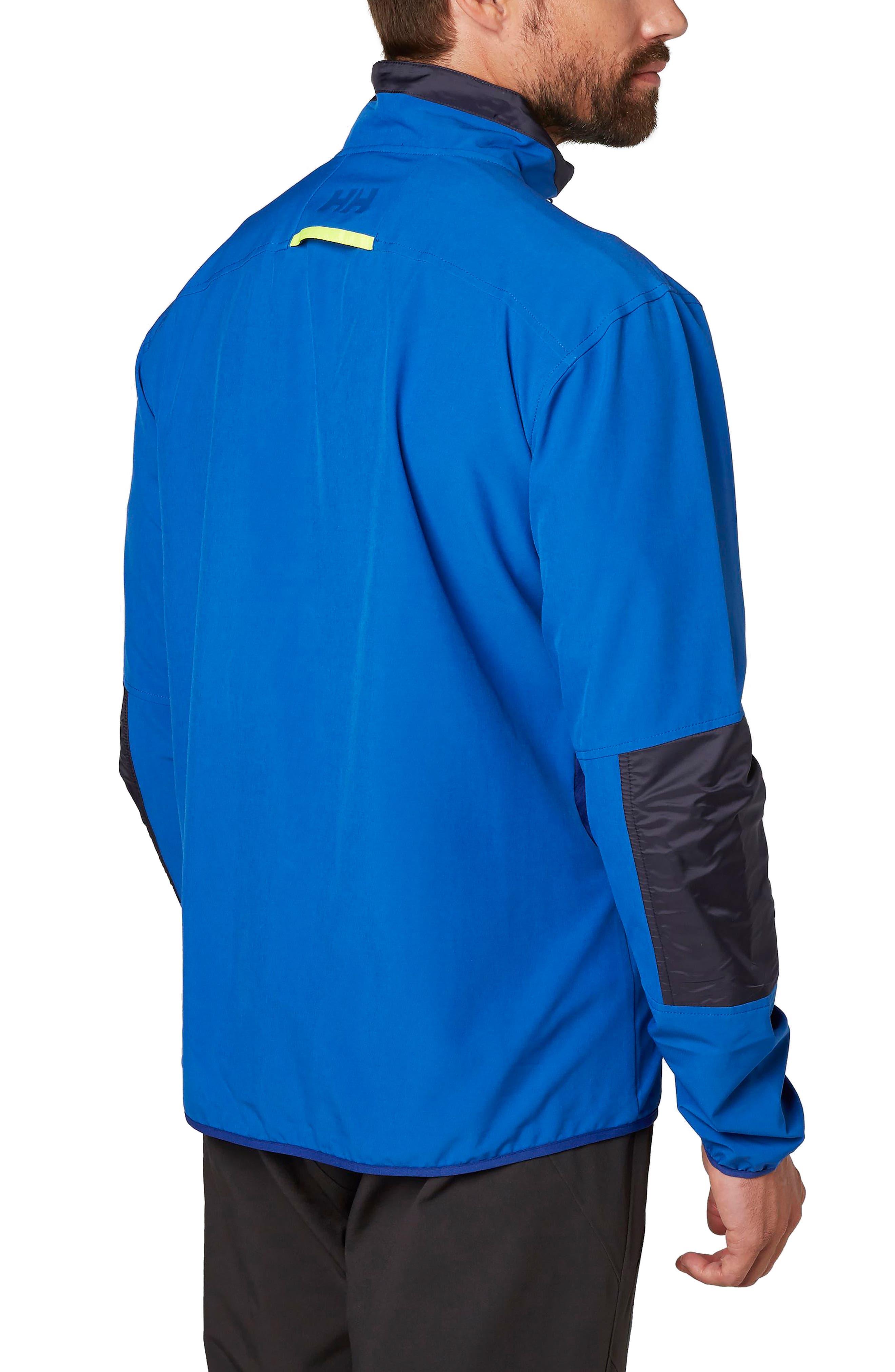 Wynn Rask Soft Shell Jacket,                             Alternate thumbnail 2, color,                             Olympian Blue