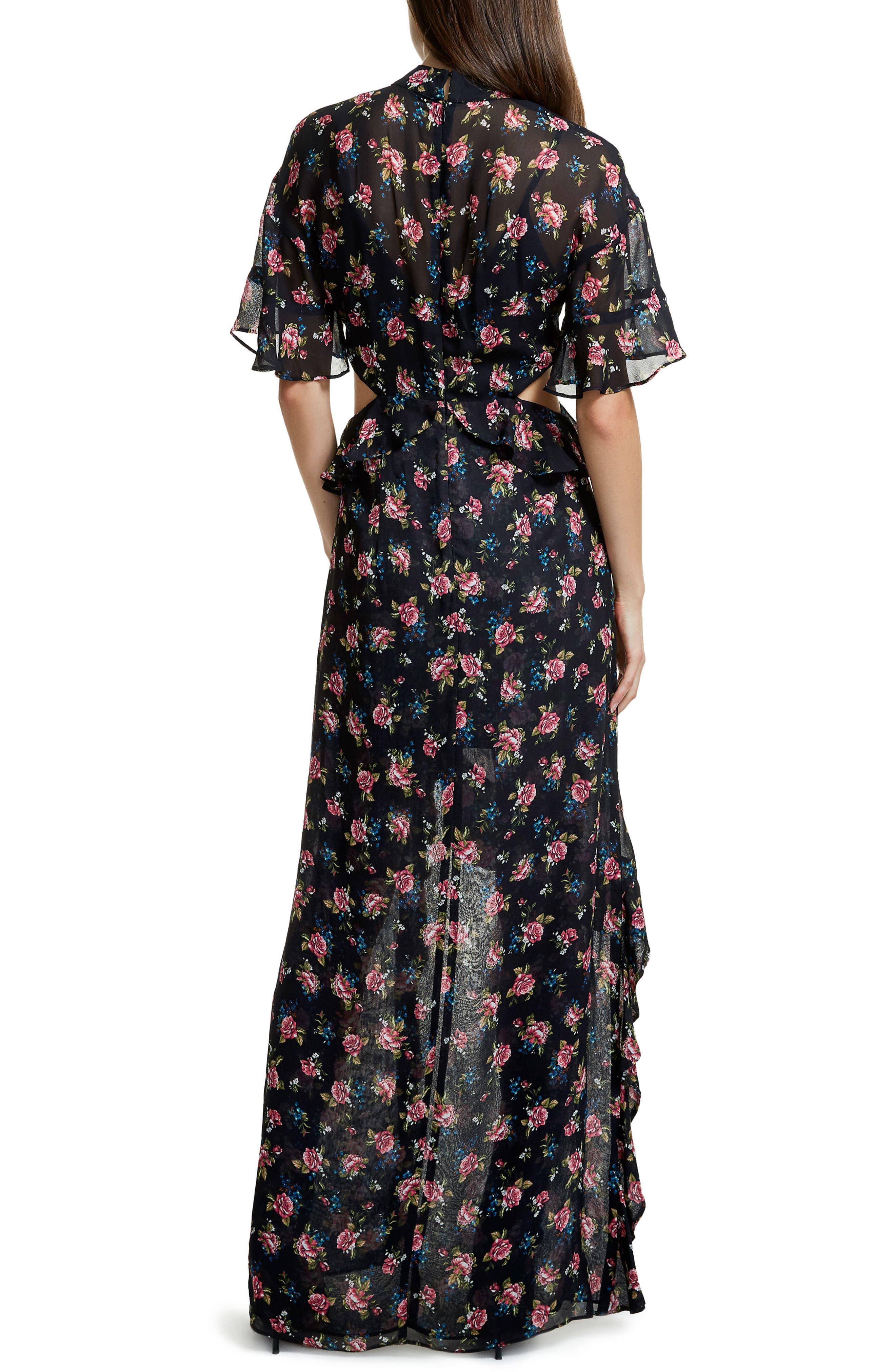 Alternate Image 2  - AFRM Melsa Cutout Maxi Dress