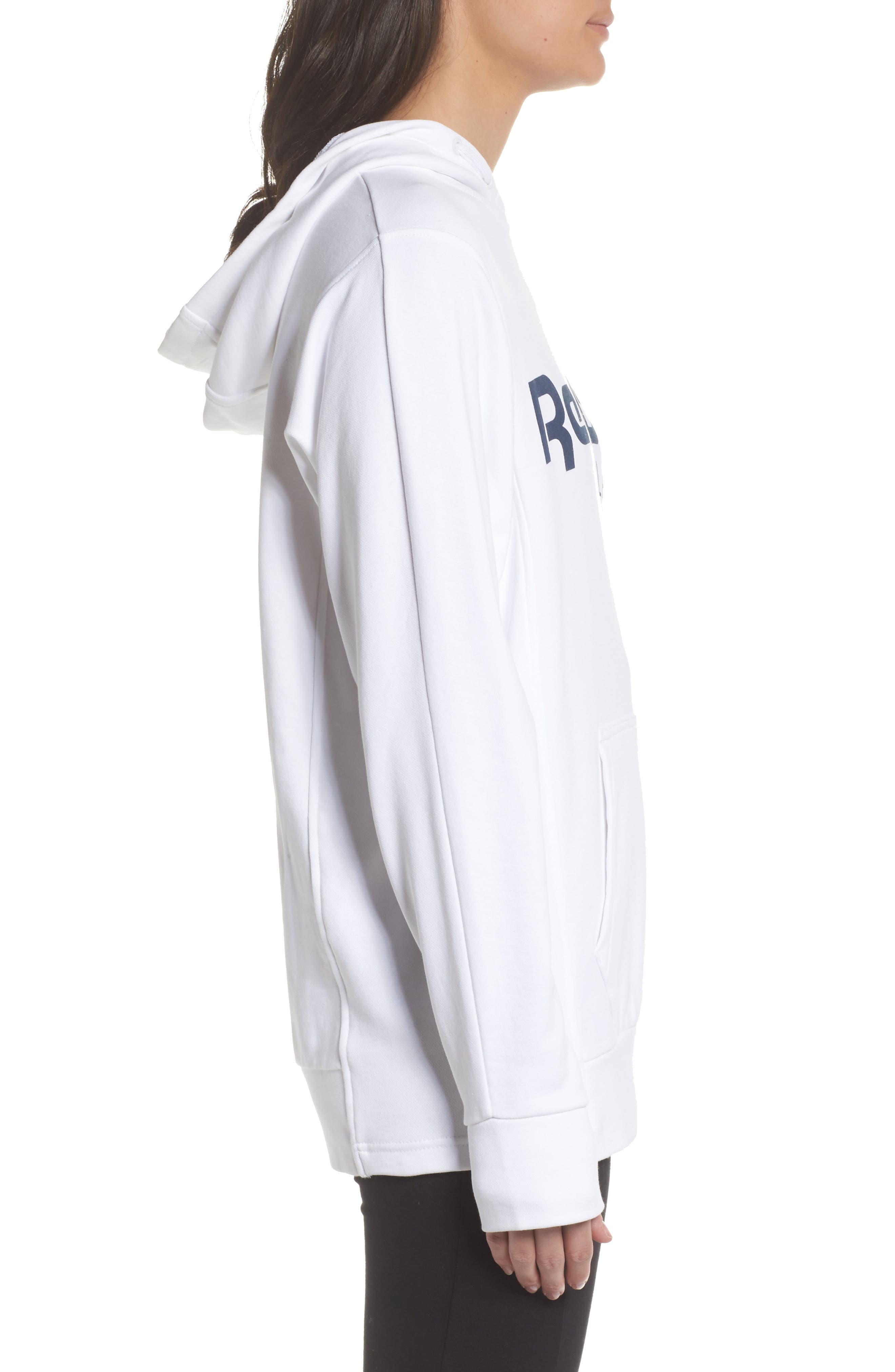 Alternate Image 3  - Reebok Foundation French Terry Hoodie
