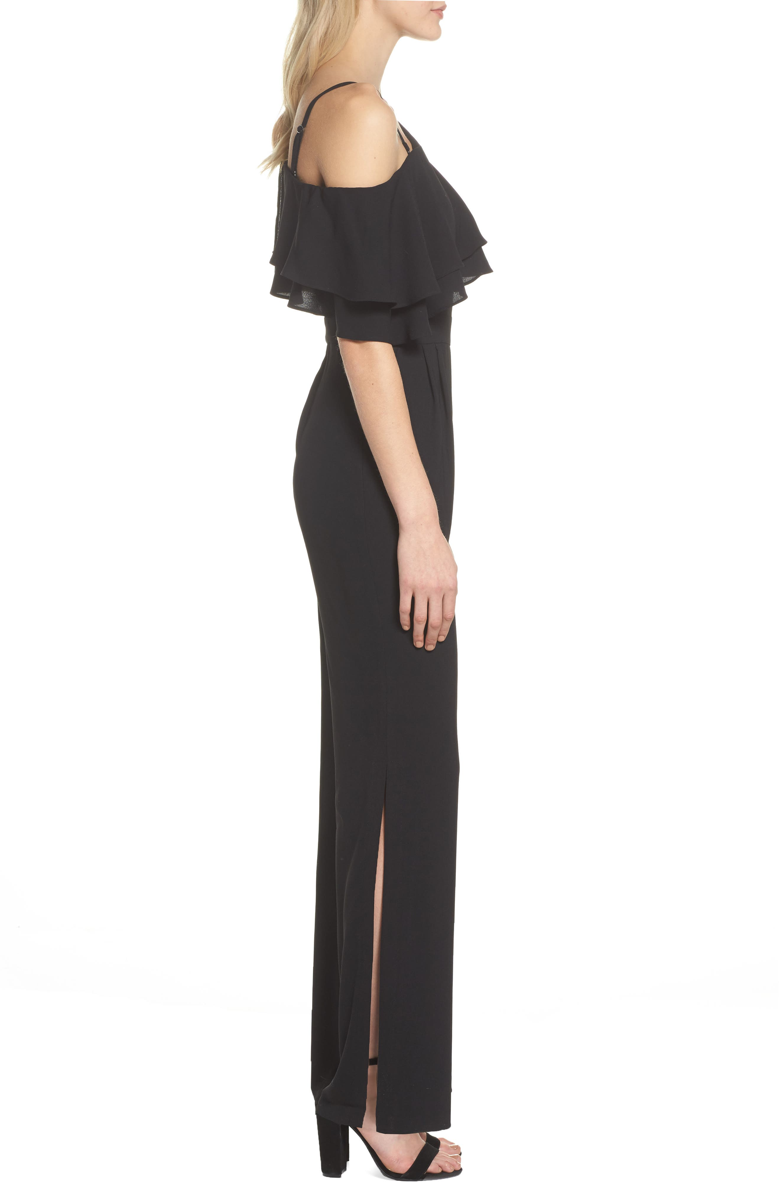 Alternate Image 3  - Vince Camuto Moss One-Shoulder Jumpsuit