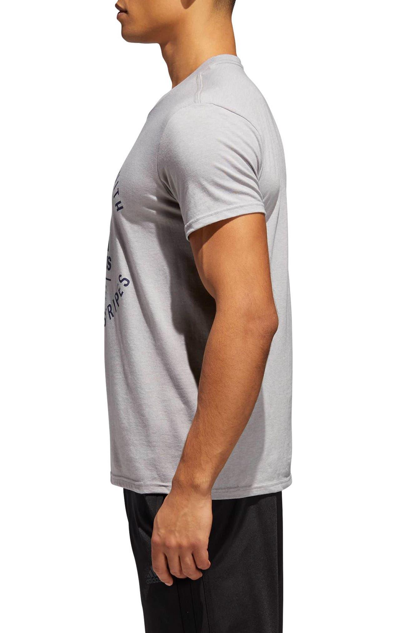 TSL Emblem T-Shirt,                             Alternate thumbnail 2, color,                             Grey Heather / Collegiate Navy