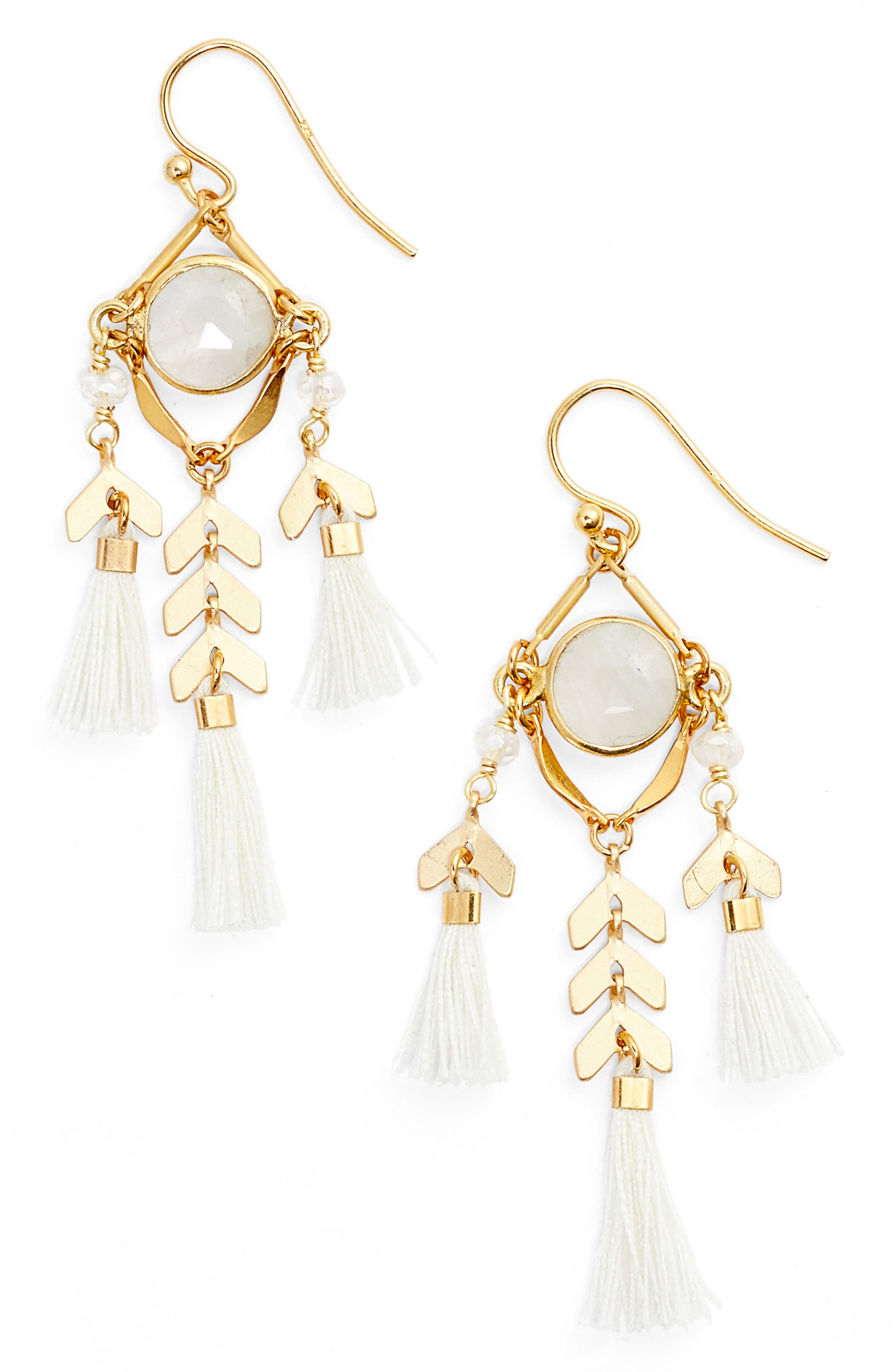 Chan Luu Tassel Drop Earrings