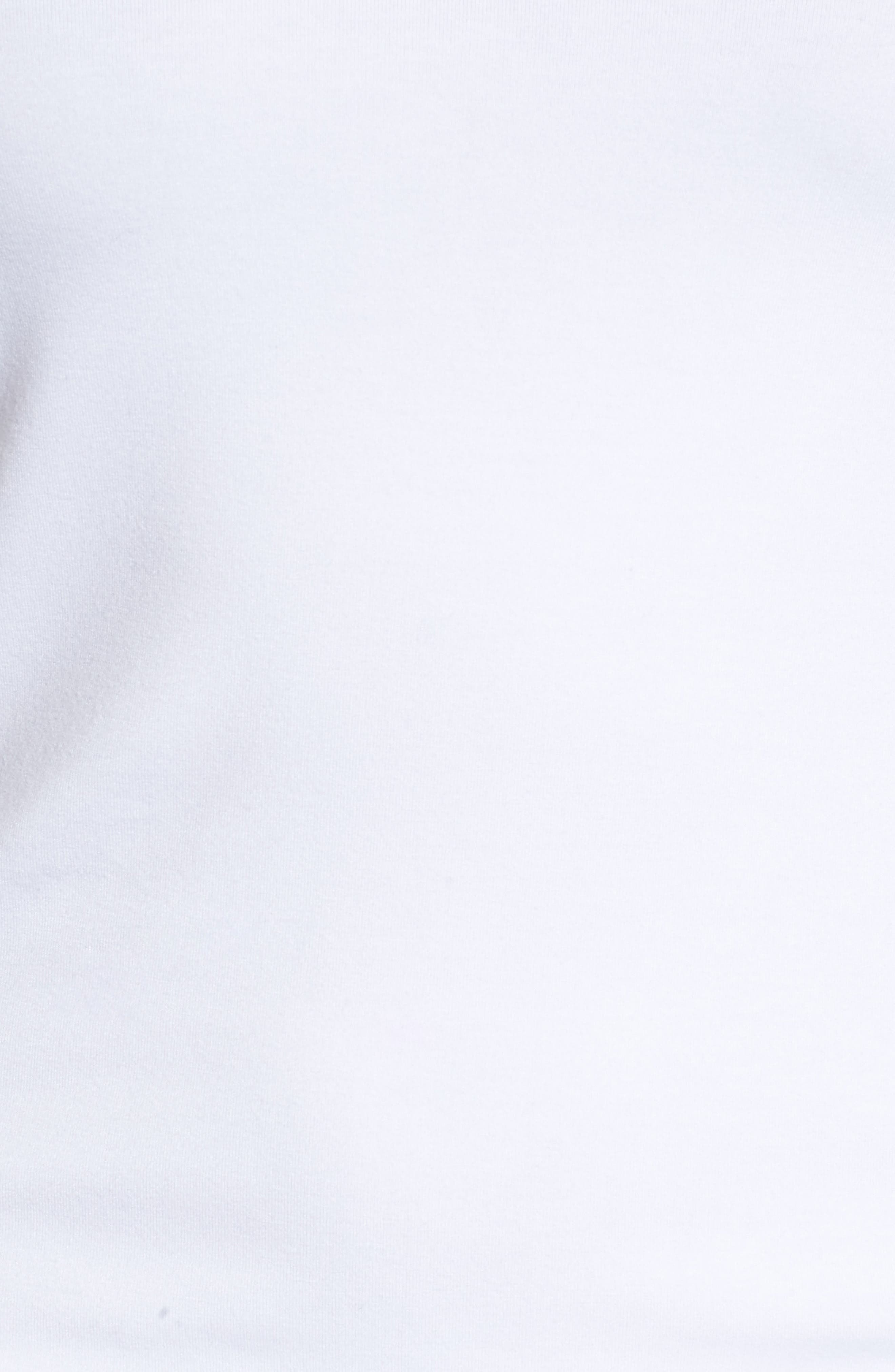 Alternate Image 6  - Halogen® Reversible V-Neck Tee (Regular & Petite)
