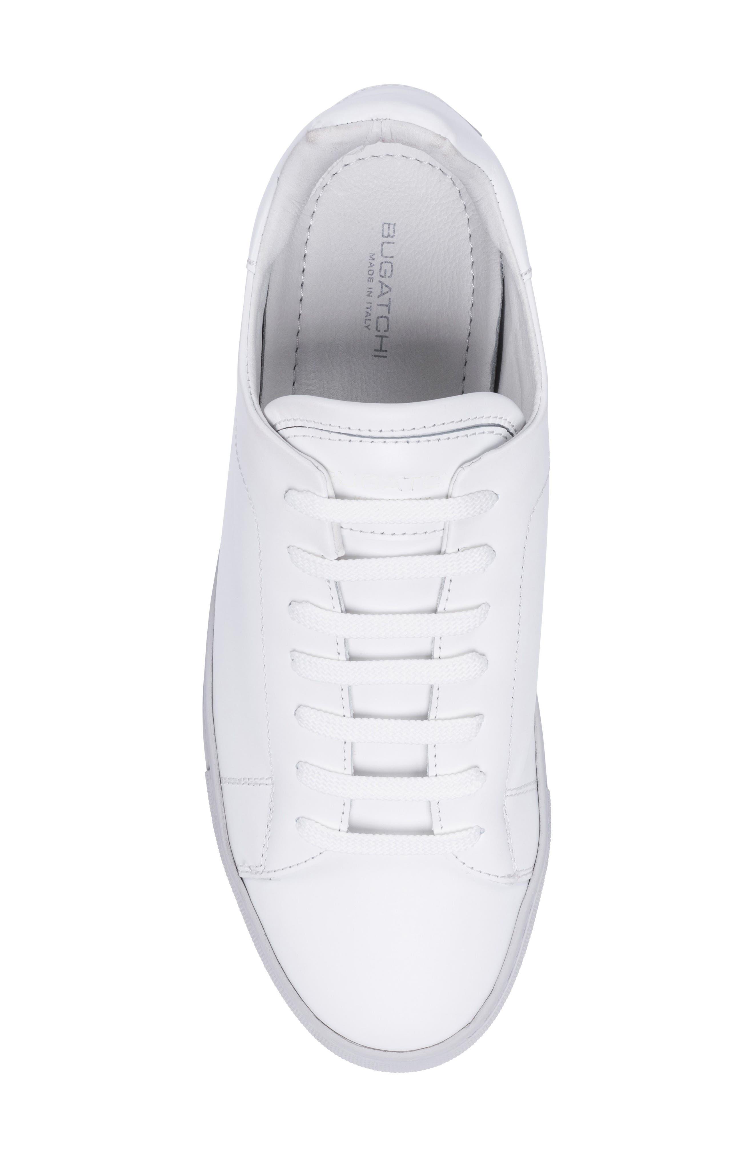 Massa Sneaker,                             Alternate thumbnail 5, color,                             Bianco Leather