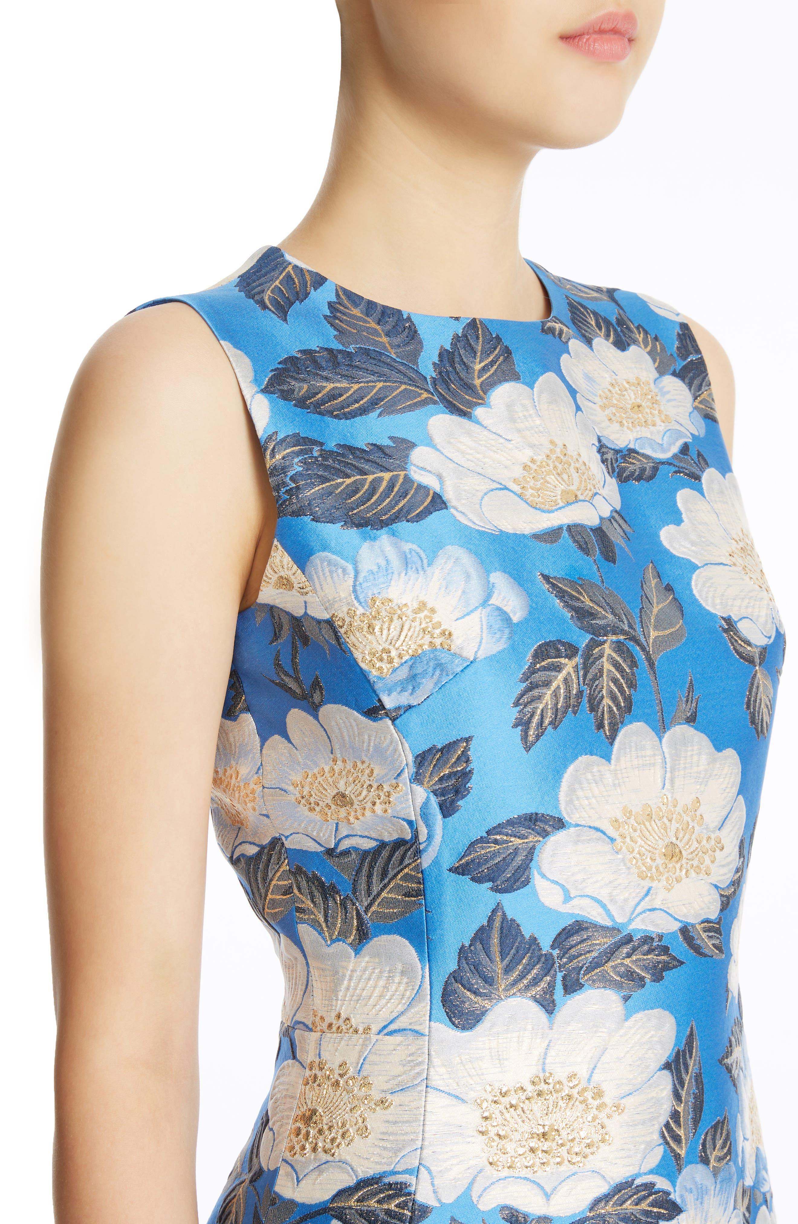Alternate Image 4  - Dolce&Gabbana Floral Brocade Dress