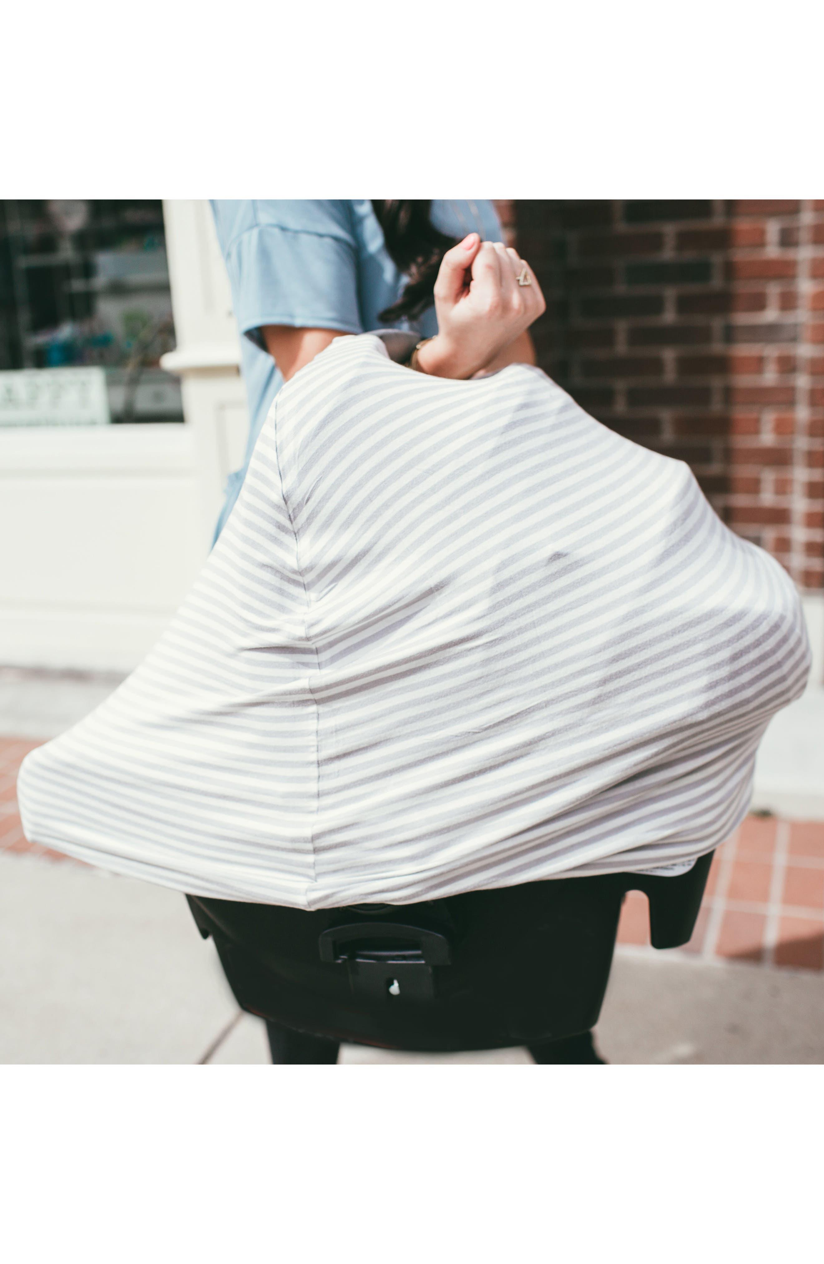 Summit Bib, Multiuse Cover & Swaddle Blanket Gift Set,                             Alternate thumbnail 27, color,                             Summit