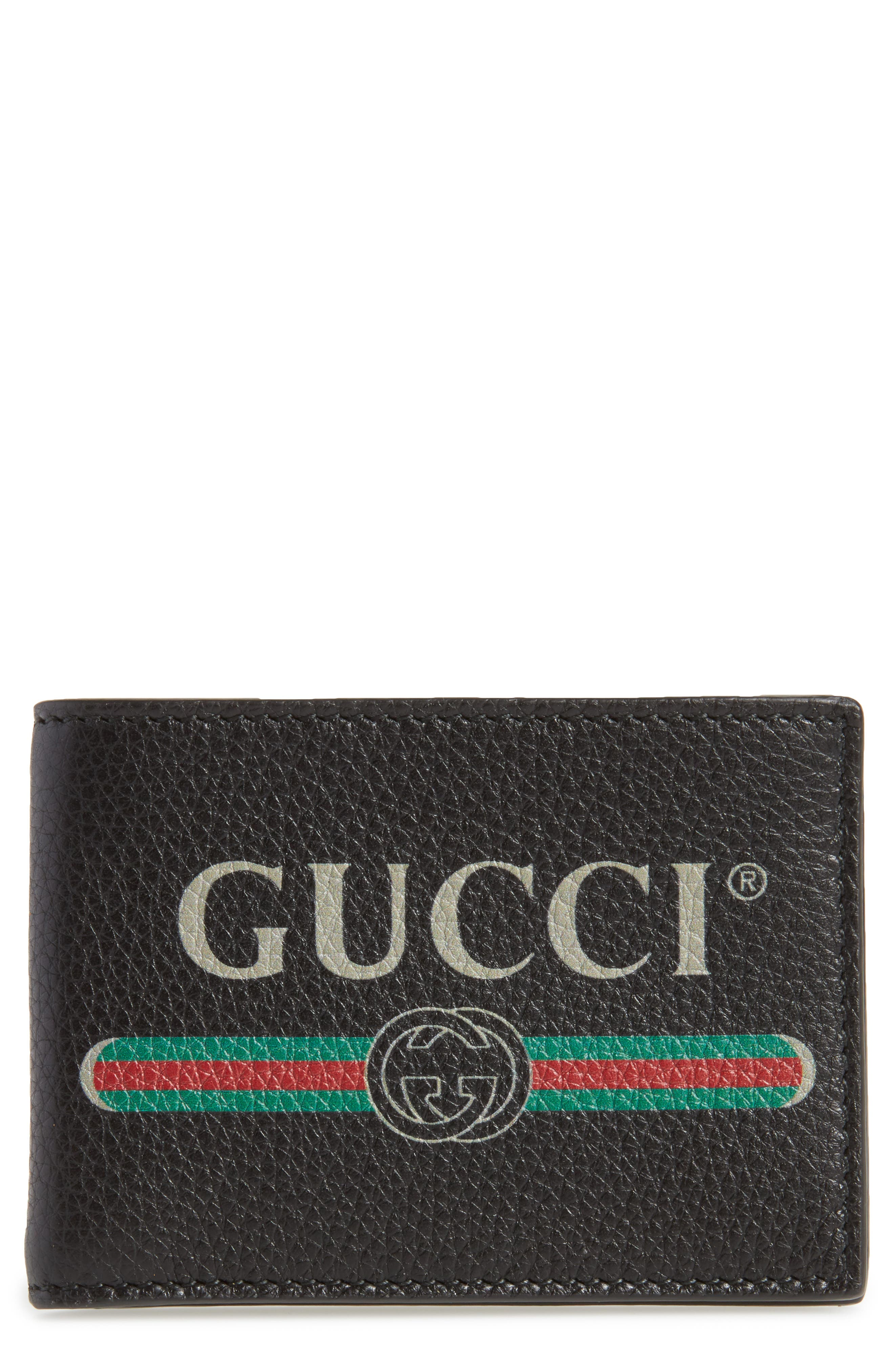 Alternate Image 1 Selected - Gucci Bifold Wallet