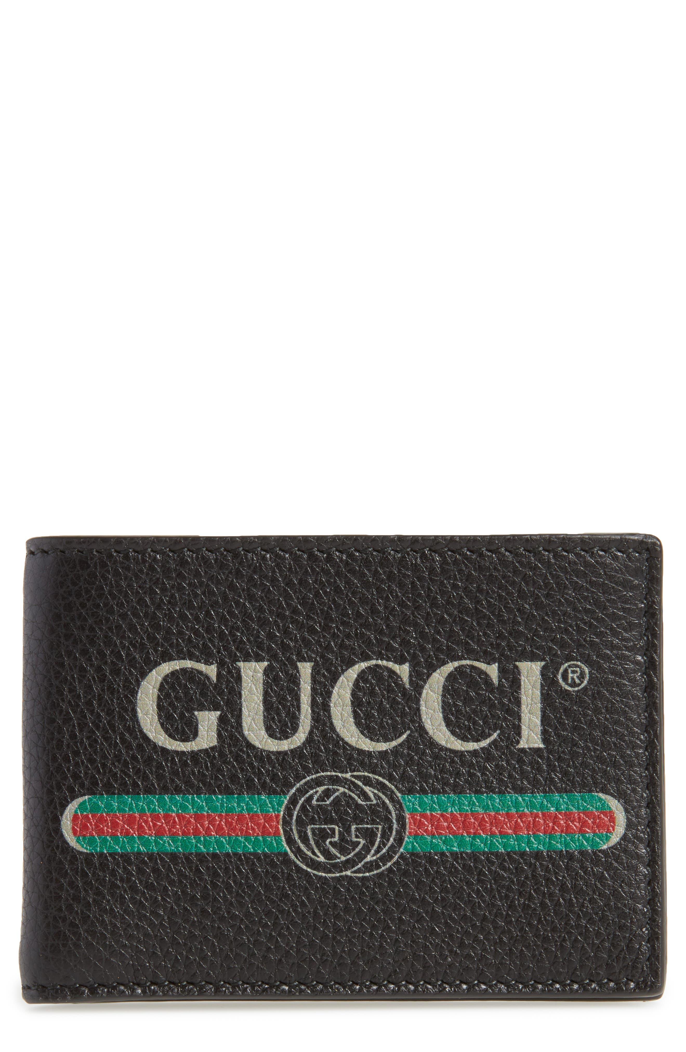 Bifold Wallet,                         Main,                         color, Black