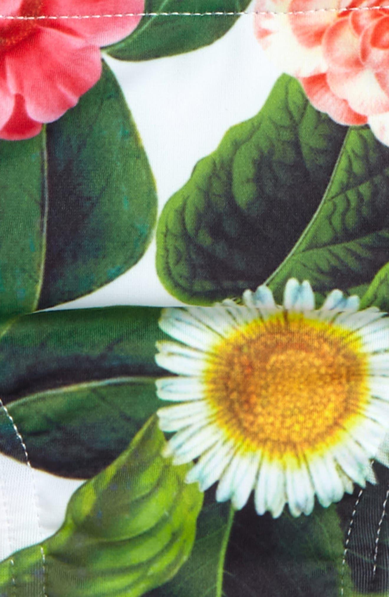 Alternate Image 2  - Oscar de la Renta Flower Jungle Two-Piece Swimsuit (Toddler Girls, Little Girls & Big Girls)