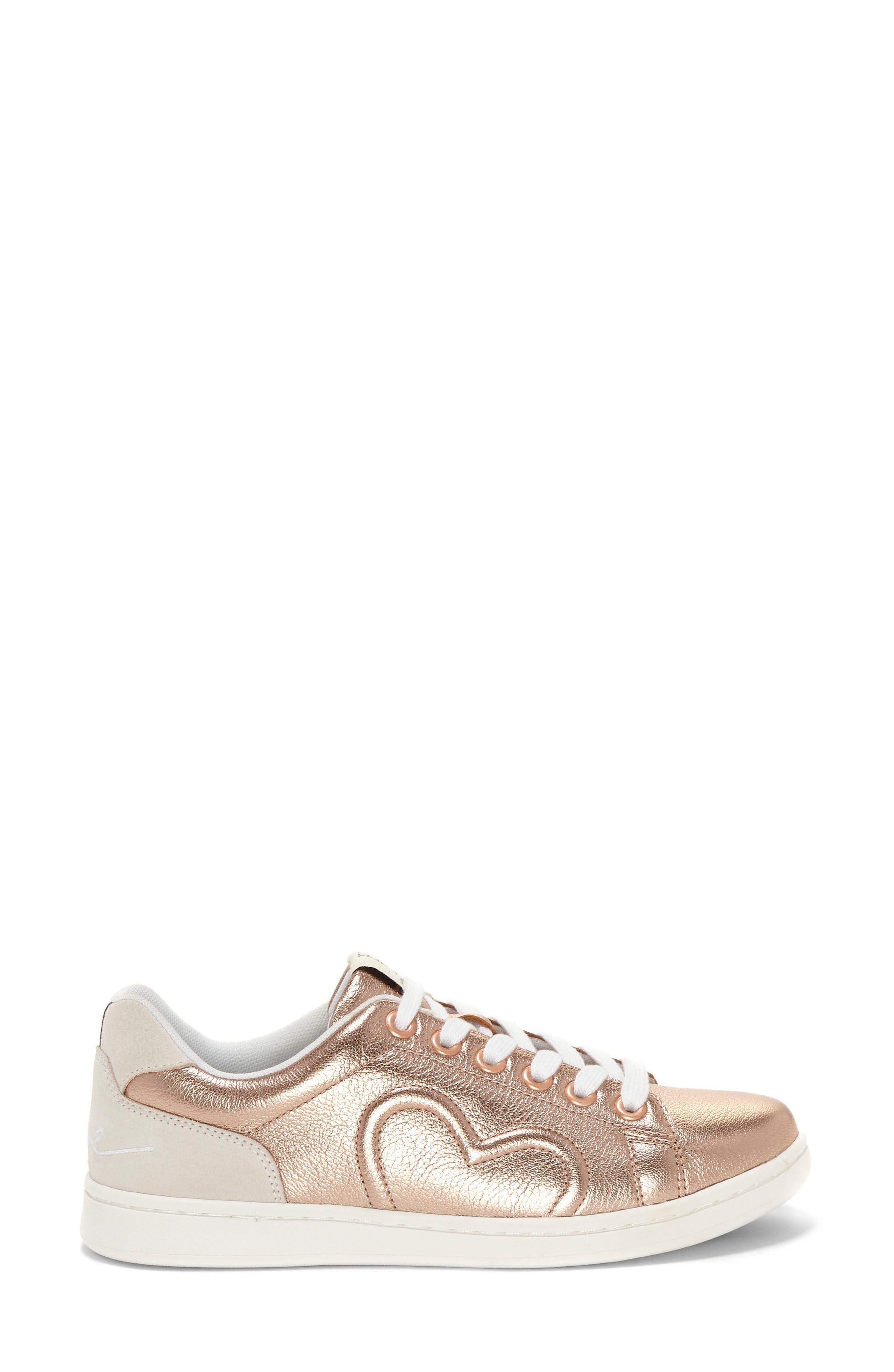 Chapunto Sneaker,                             Alternate thumbnail 4, color,                             Rose Gold Leather