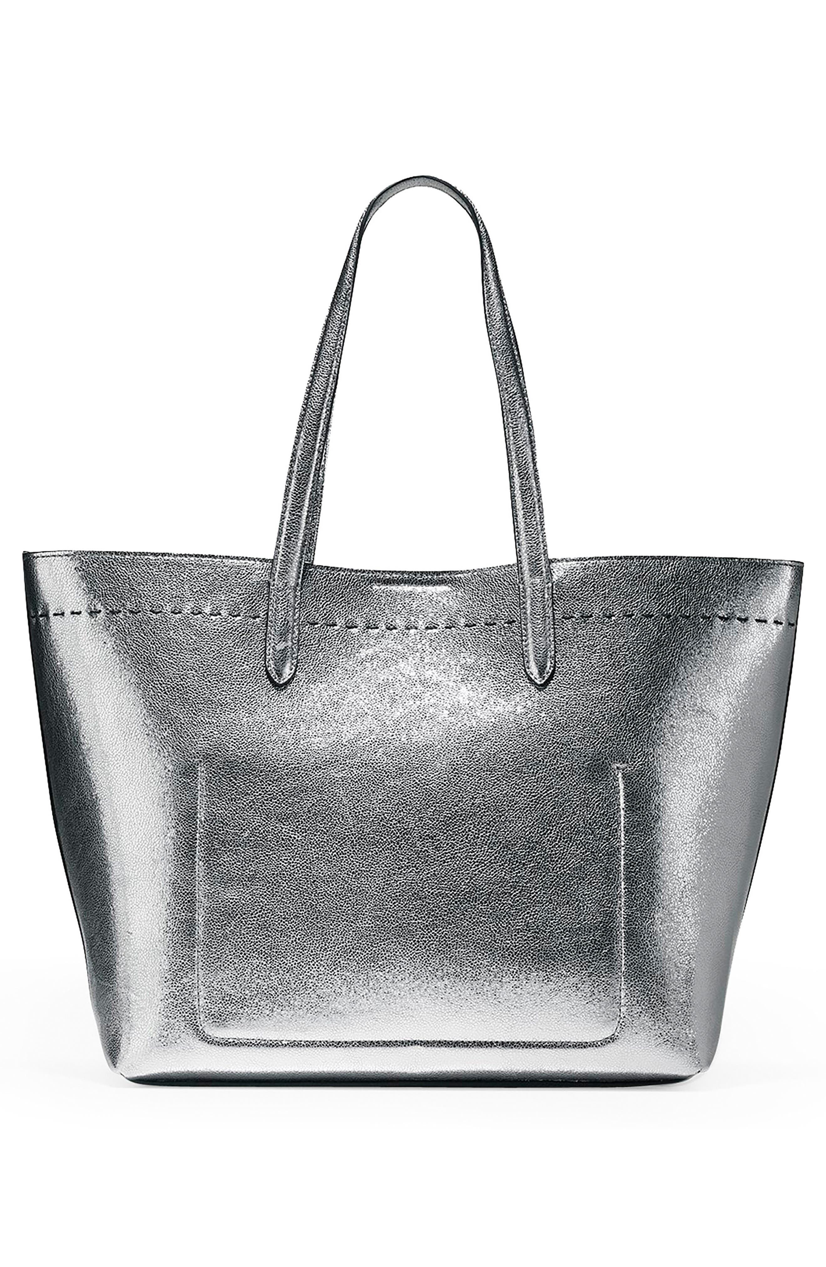 Alternate Image 2  - Cole Haan Payson Metallic Leather Tote