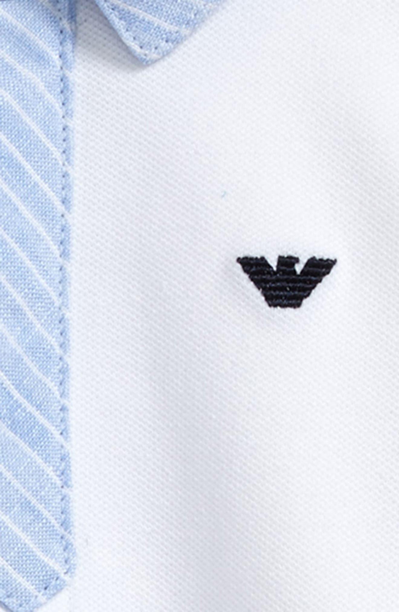 Tie Romper,                             Alternate thumbnail 3, color,                             White