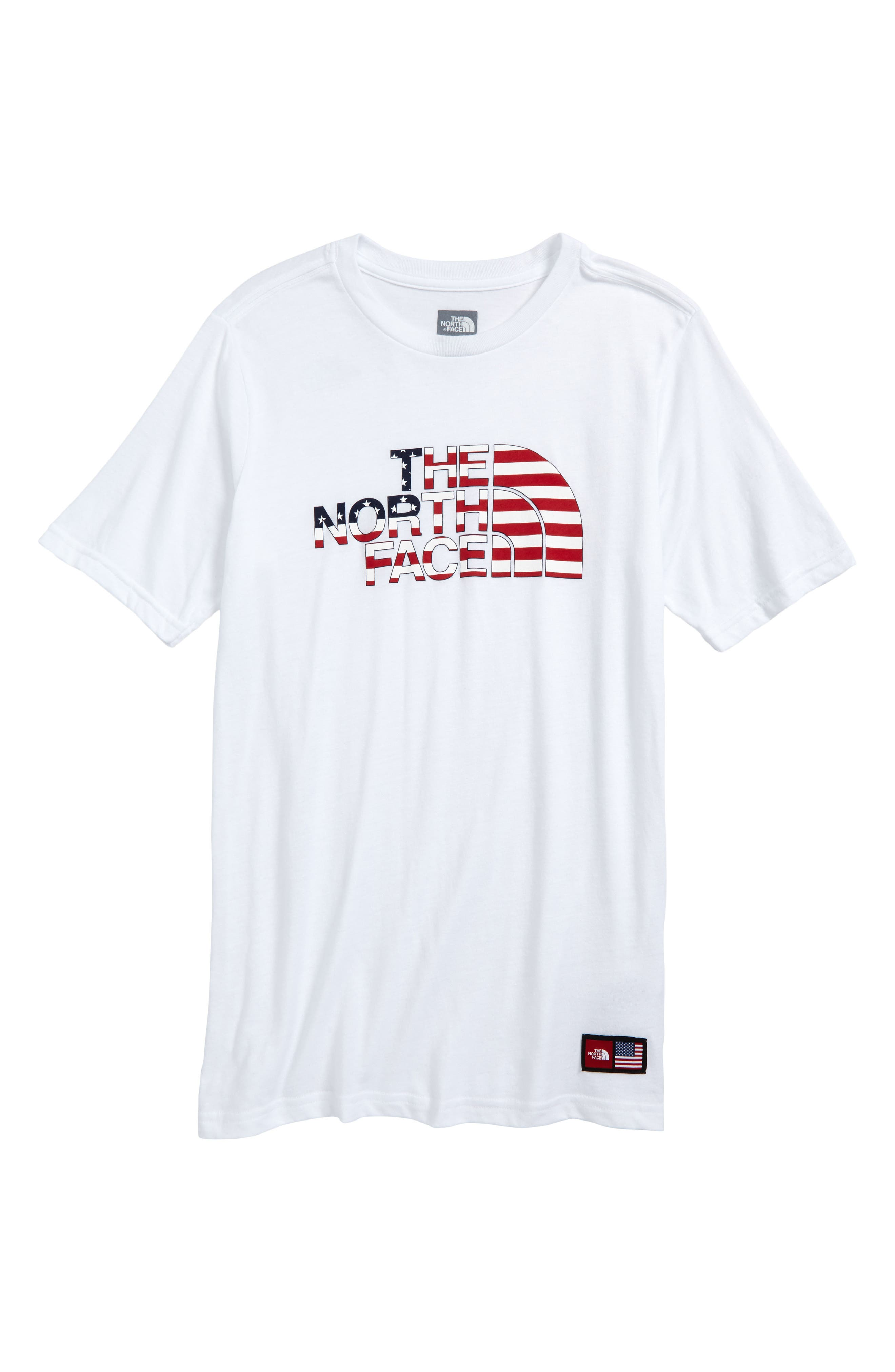 The North Face International Collection Crewneck T-Shirt (Big Boys)