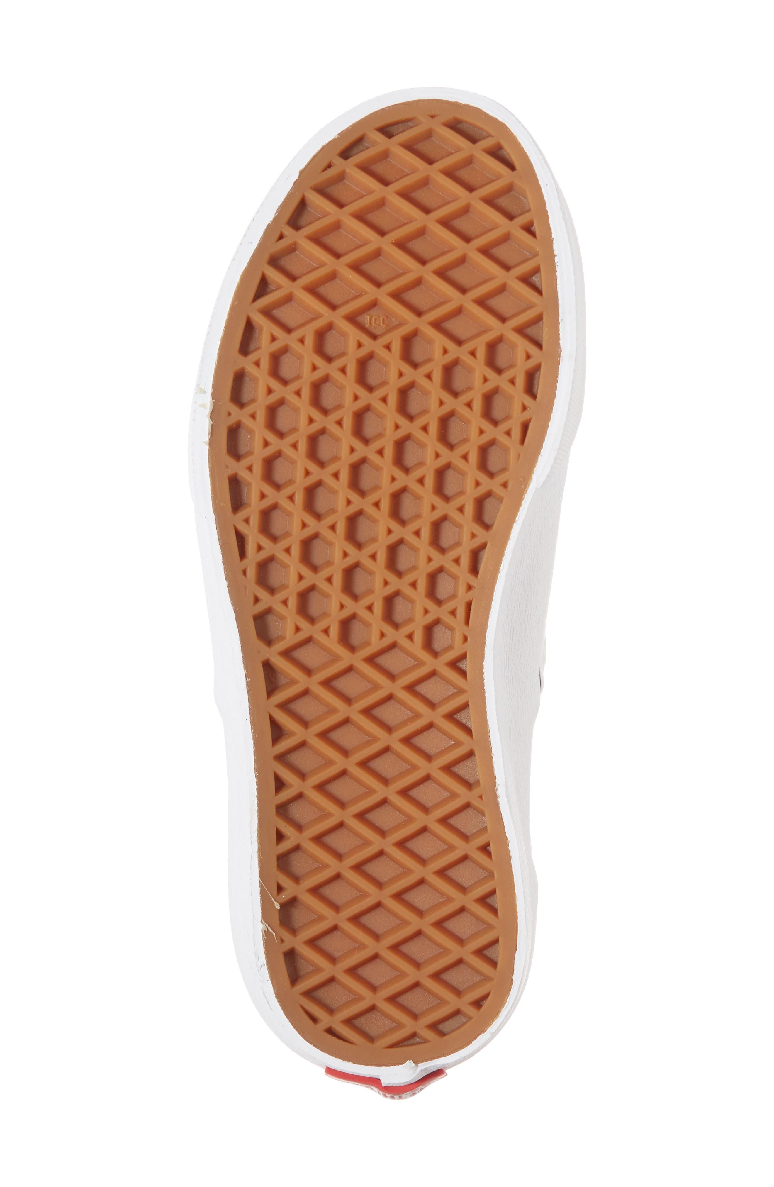 Authentic Sneaker,                             Alternate thumbnail 6, color,                             Aqua Glass/ True White
