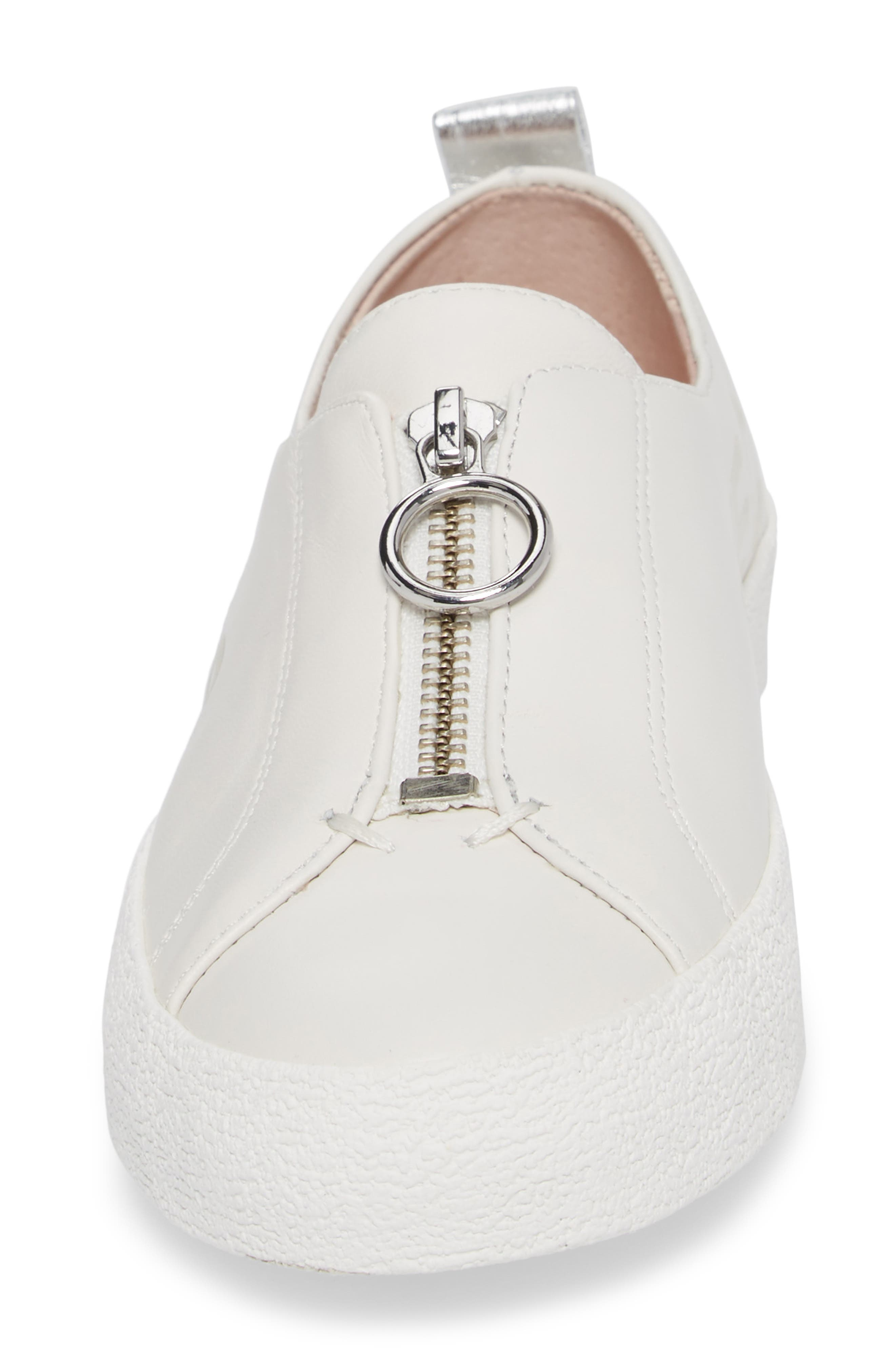 Alternate Image 4  - Avec Les Filles Sasha Zip Sneaker (Women)