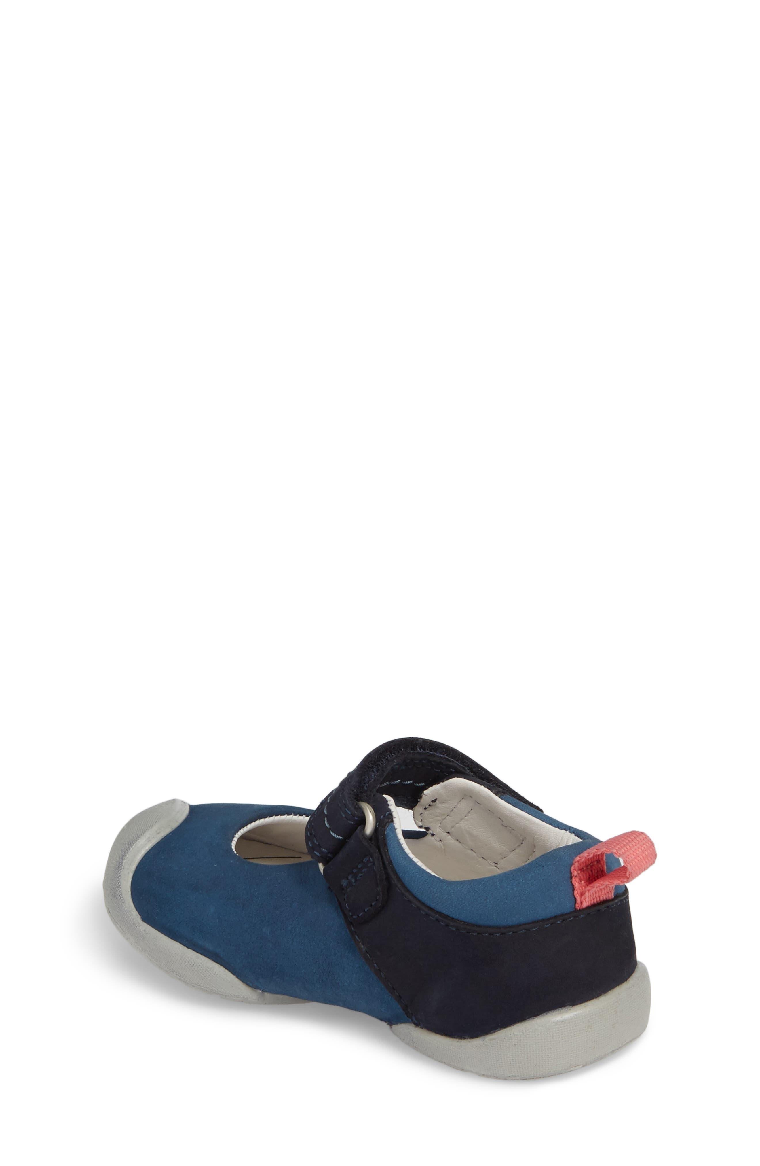 Pep Mary Jane-T Sneaker,                             Alternate thumbnail 2, color,                             Dress Blues/ Sugar Coral