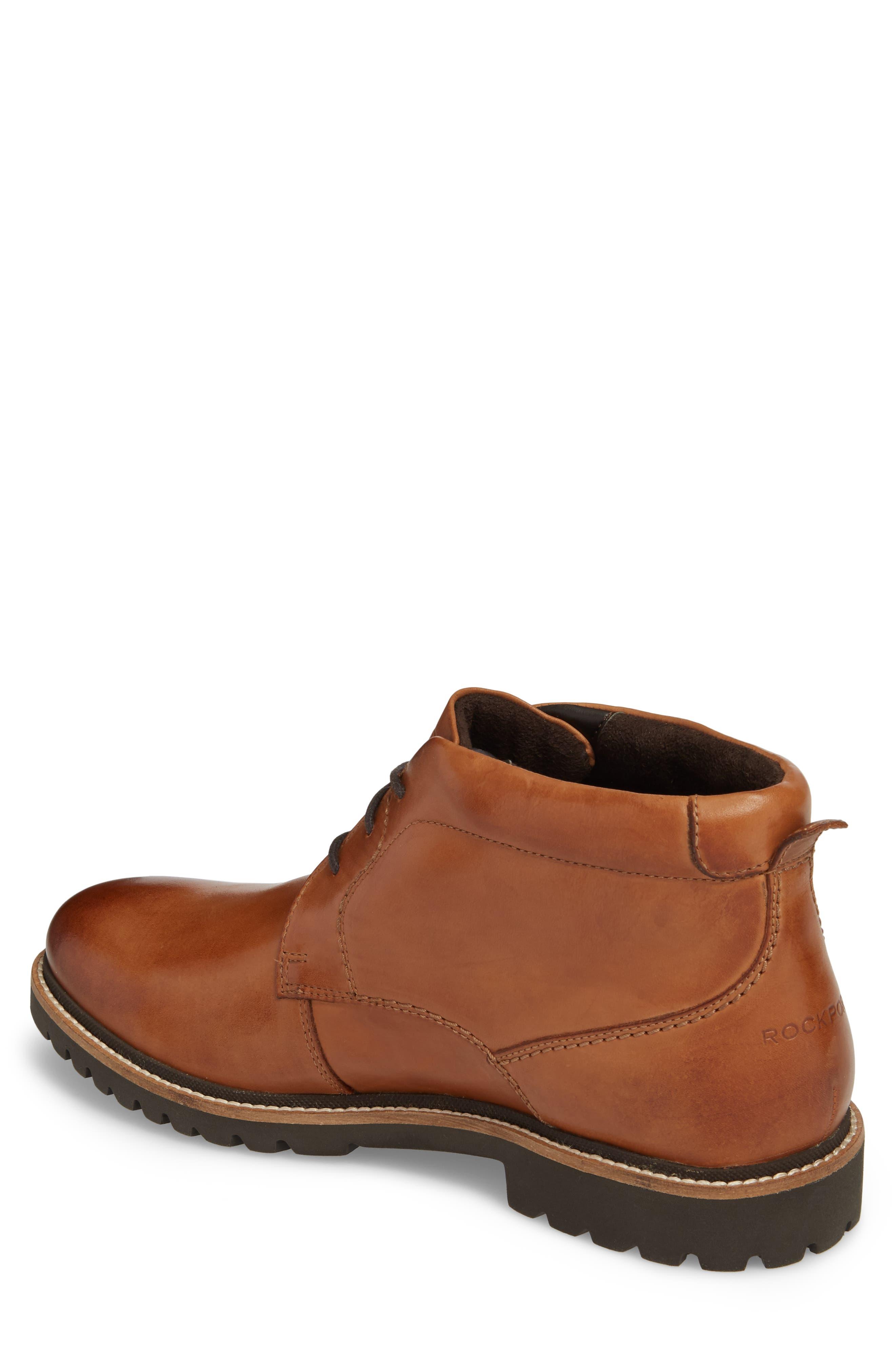 Marshall Chukka Boot,                             Alternate thumbnail 2, color,                             Cognac Leather