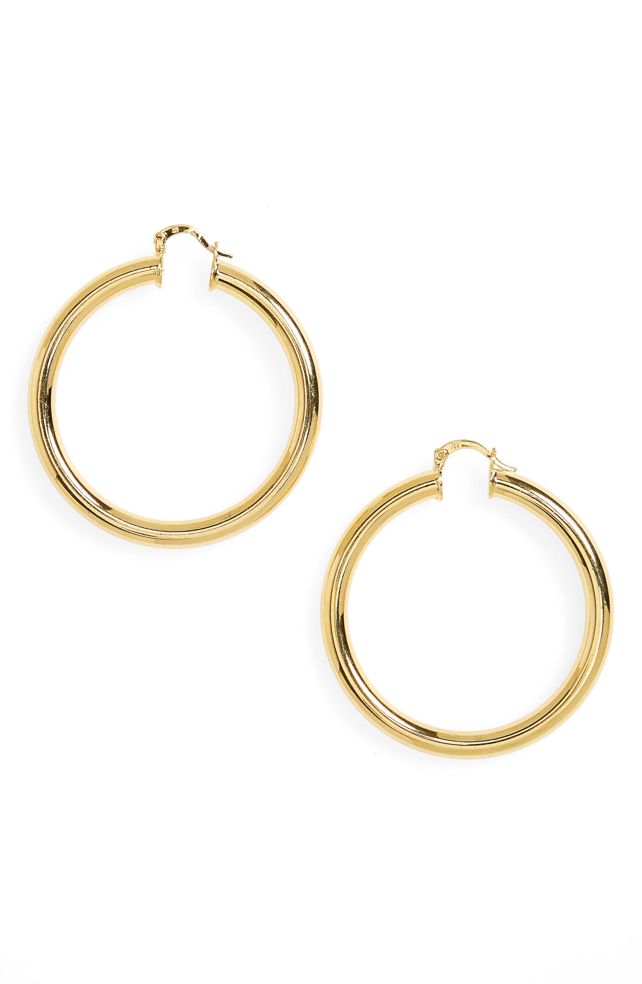 Main Image - Melody Ehsani Sade Medium Hoop Earrings