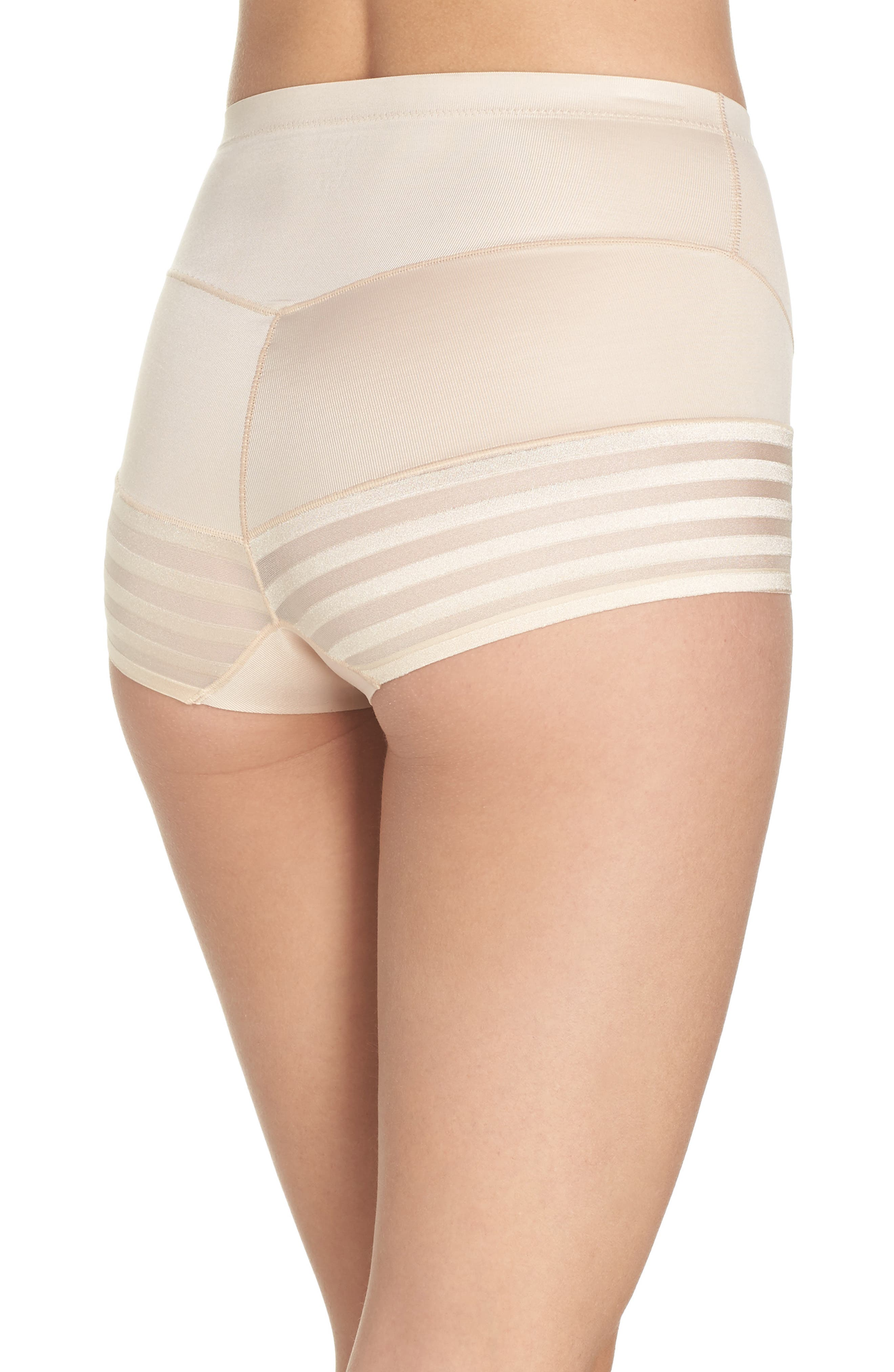 Tummy Squeezer Shaping Briefs,                             Alternate thumbnail 2, color,                             Latte