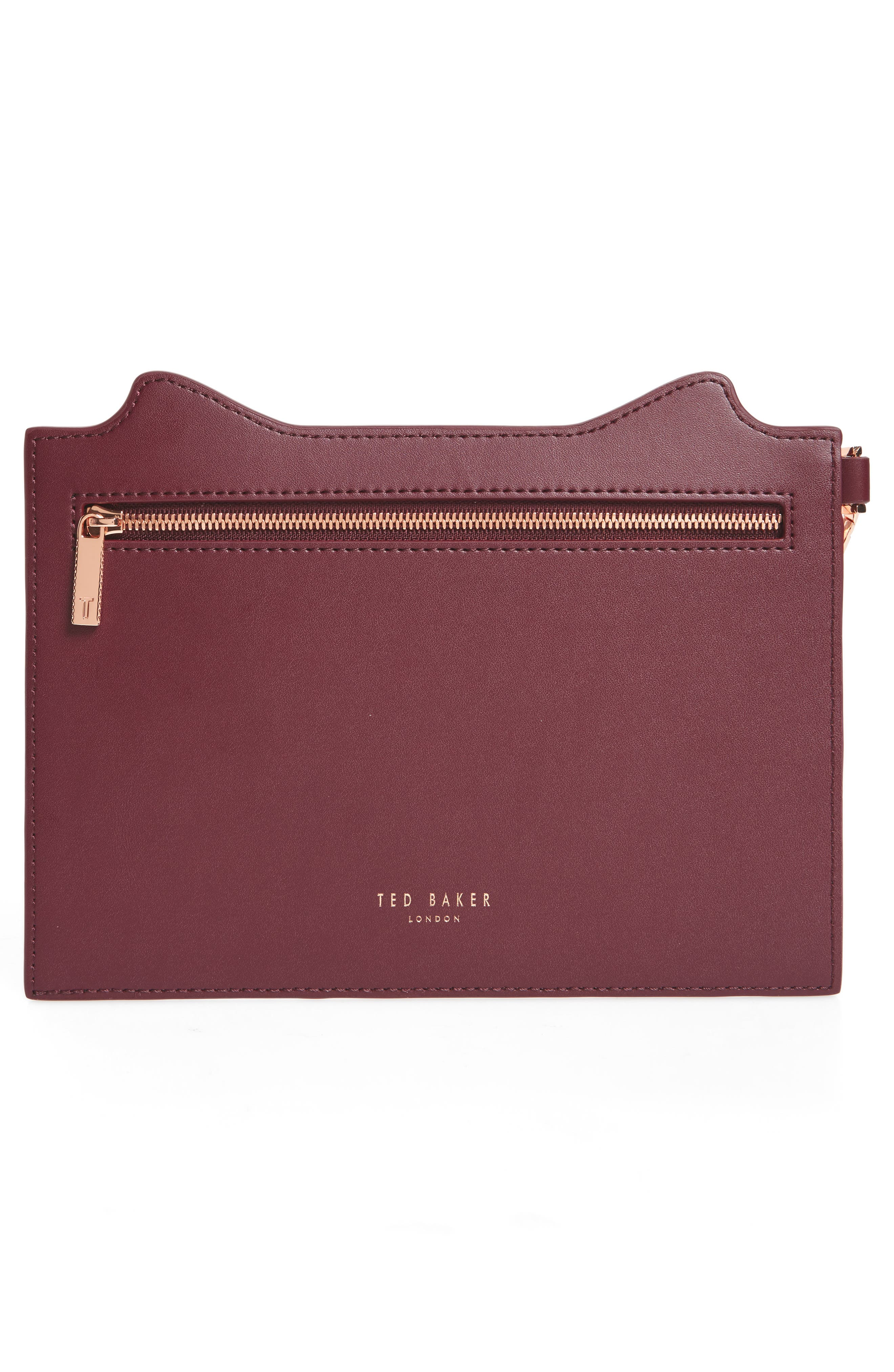 Alternate Image 3  - Ted Baker London Felixea Leather Pouch