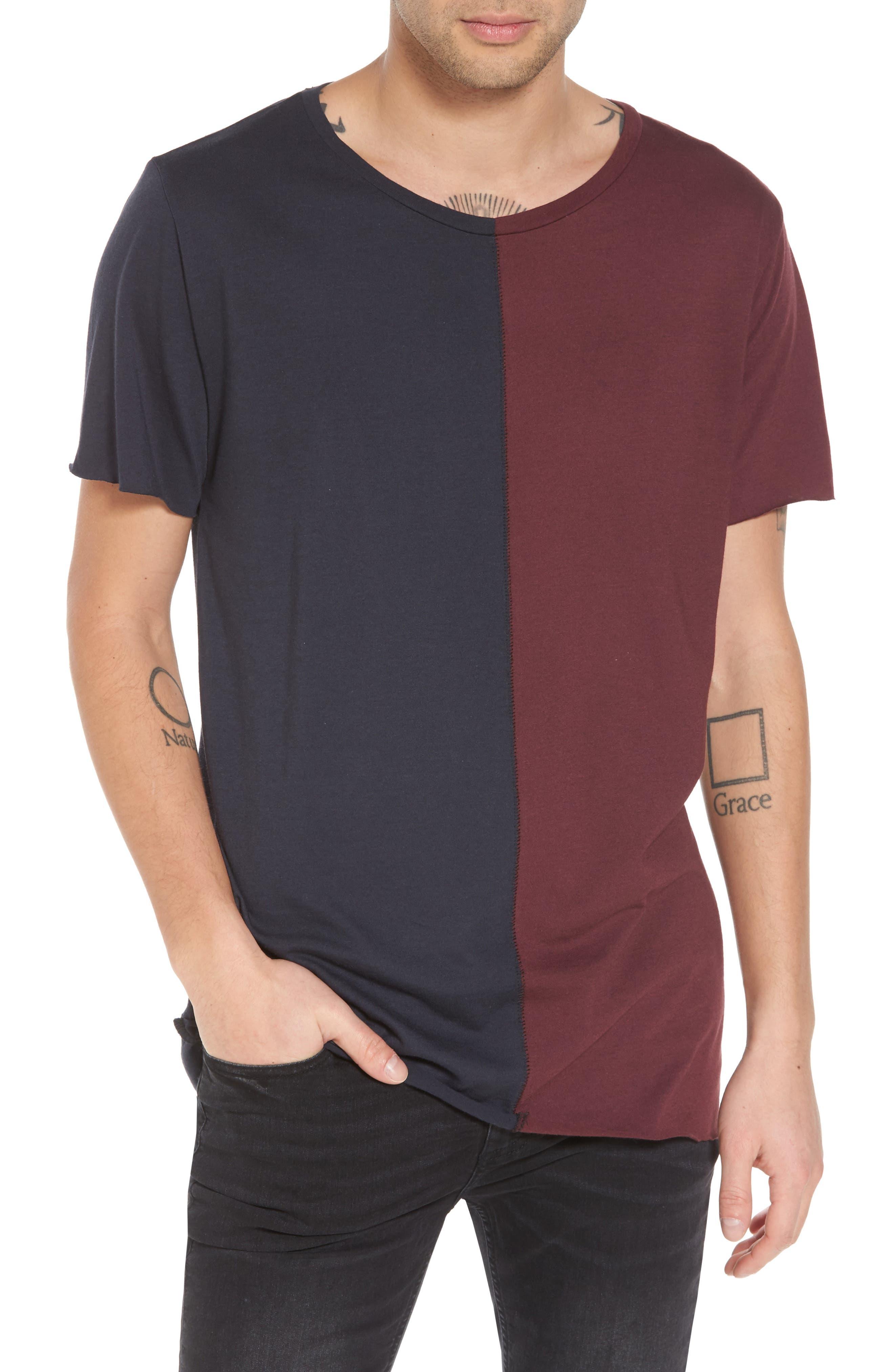 Alternate Image 1 Selected - The Rail Colorblock T-Shirt