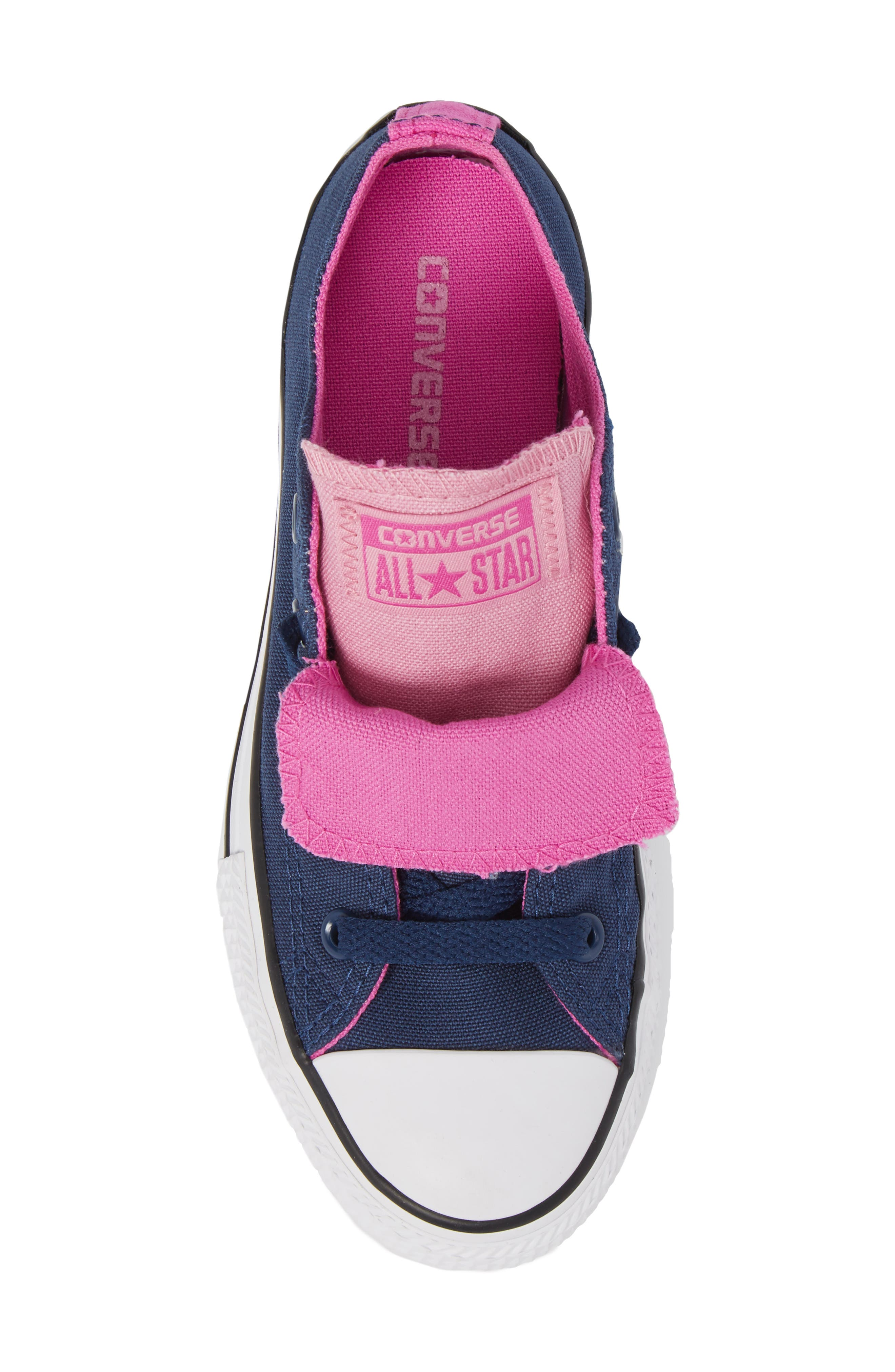 All Star<sup>®</sup> Double Tongue Sneaker,                             Alternate thumbnail 5, color,                             Navy